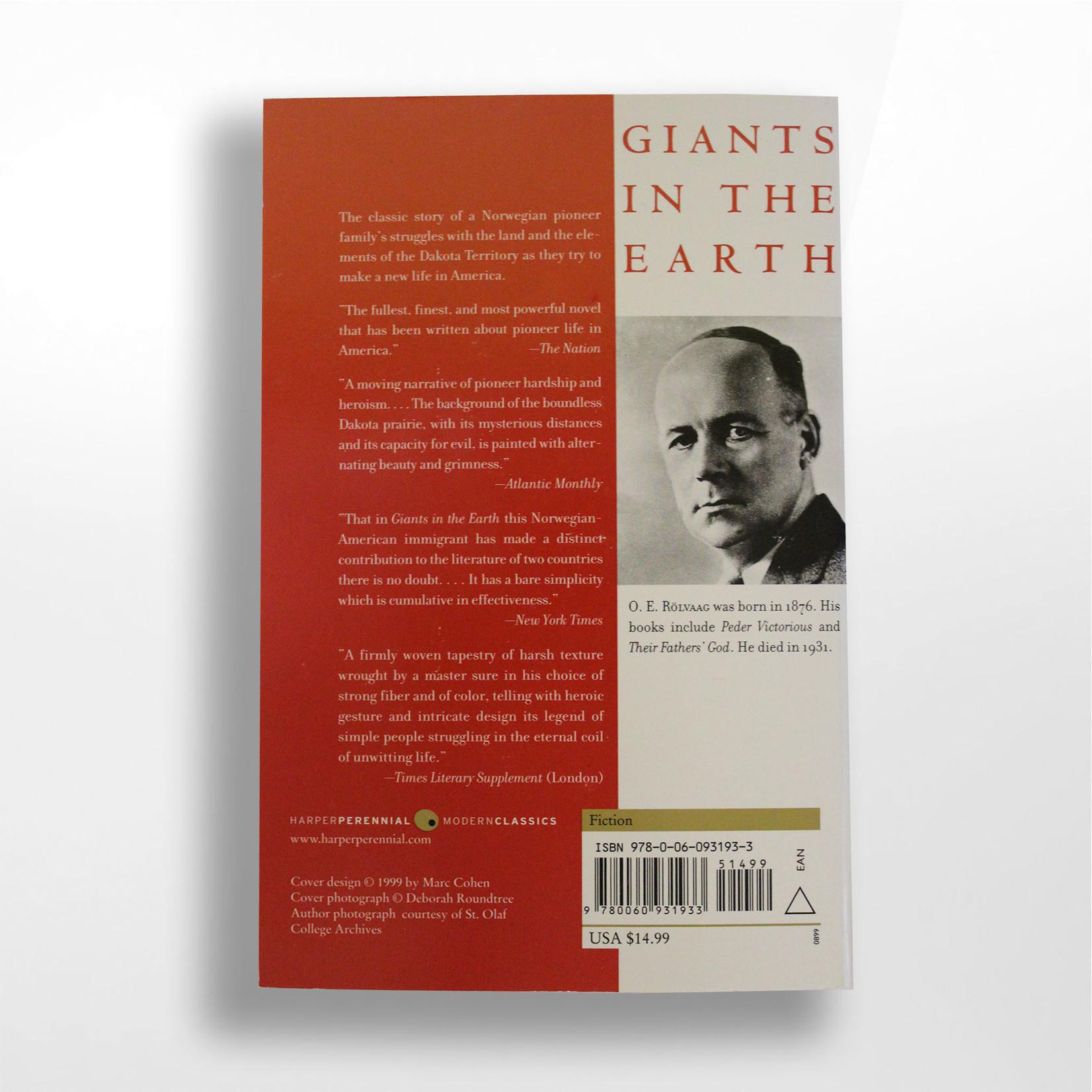 Dakota West Books Giants in the Earth
