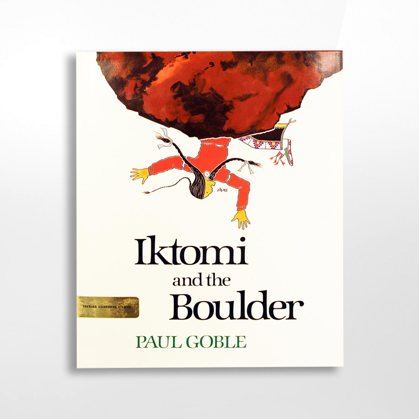 Dakota West Books Books, DWB357, Iktomi & the Boulder - cloth, Goble