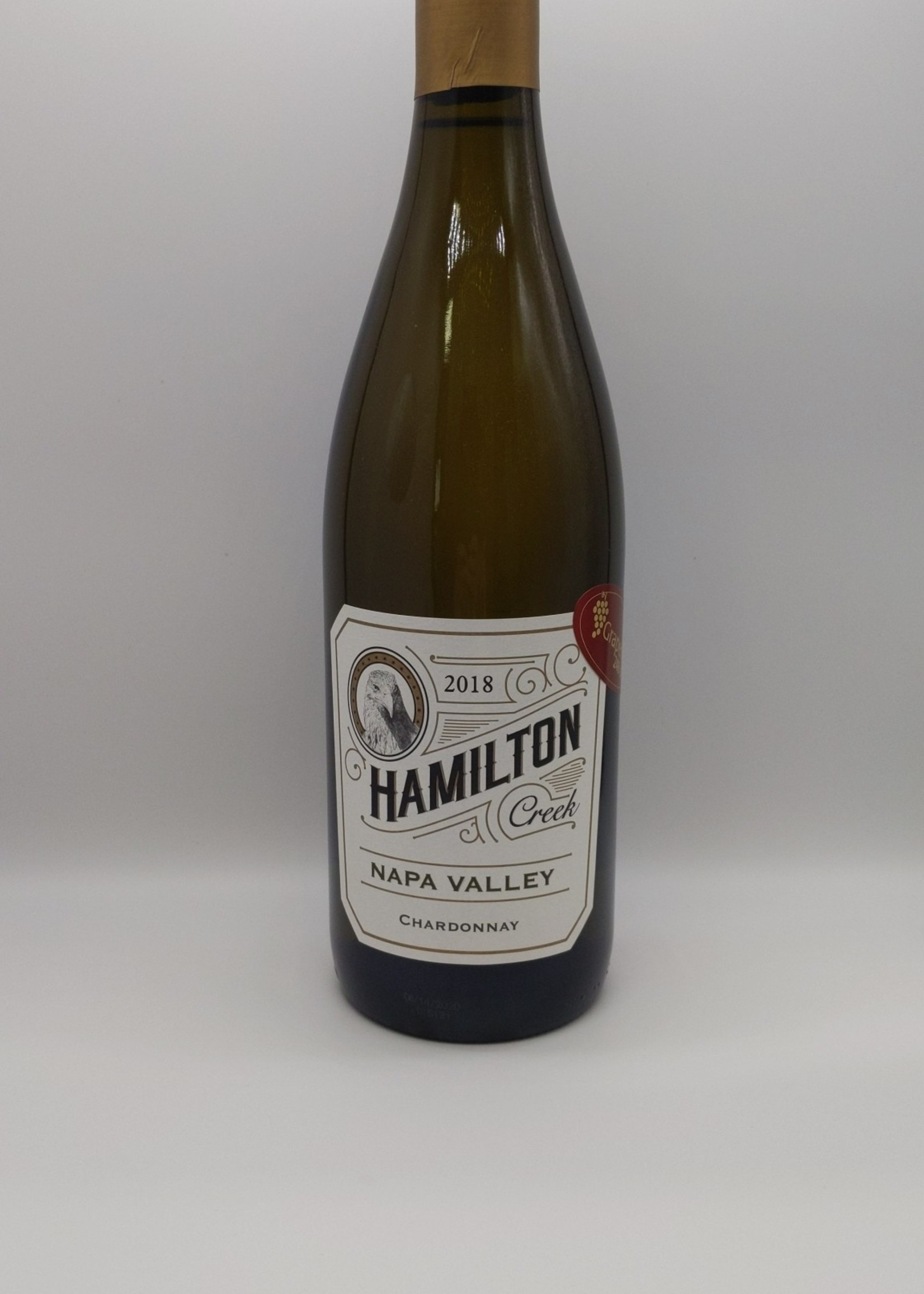 2018 HAMILTON CREEK CHARDONNAY 750ml