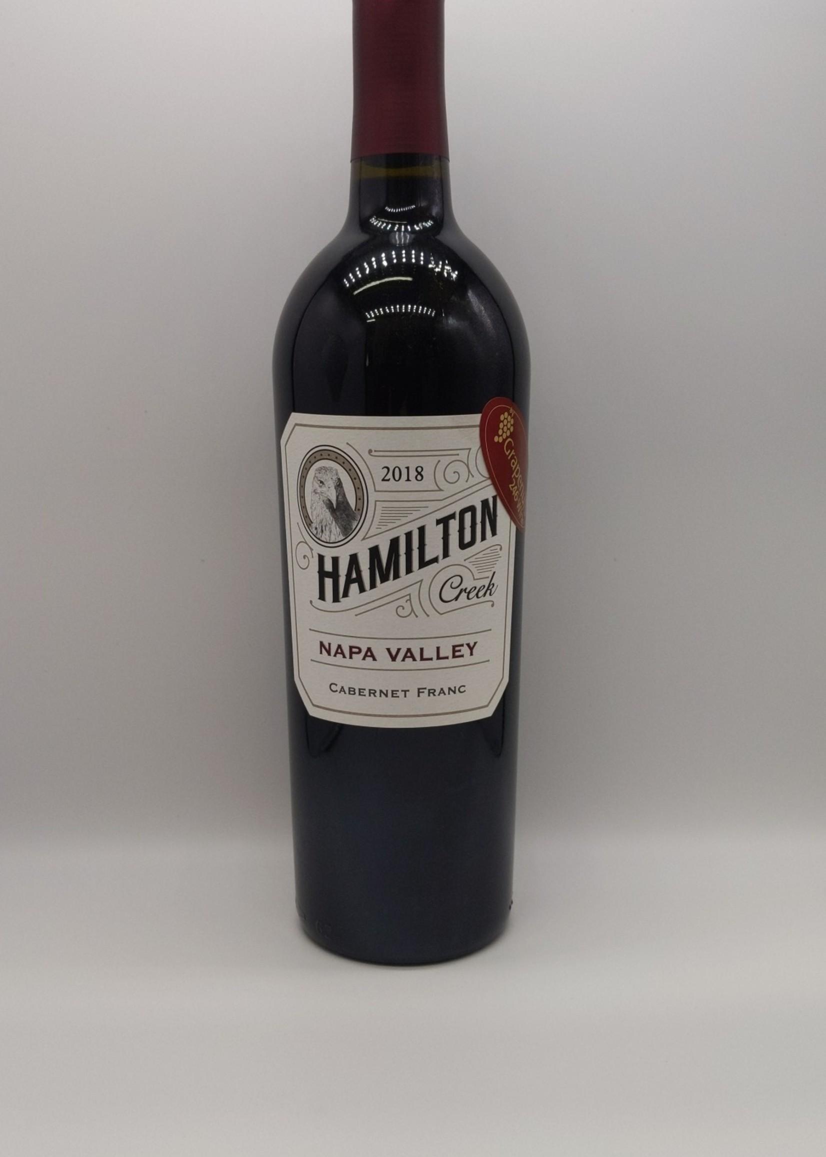 2018 HAMILTON CREEK CABERNET FRANC 750ml