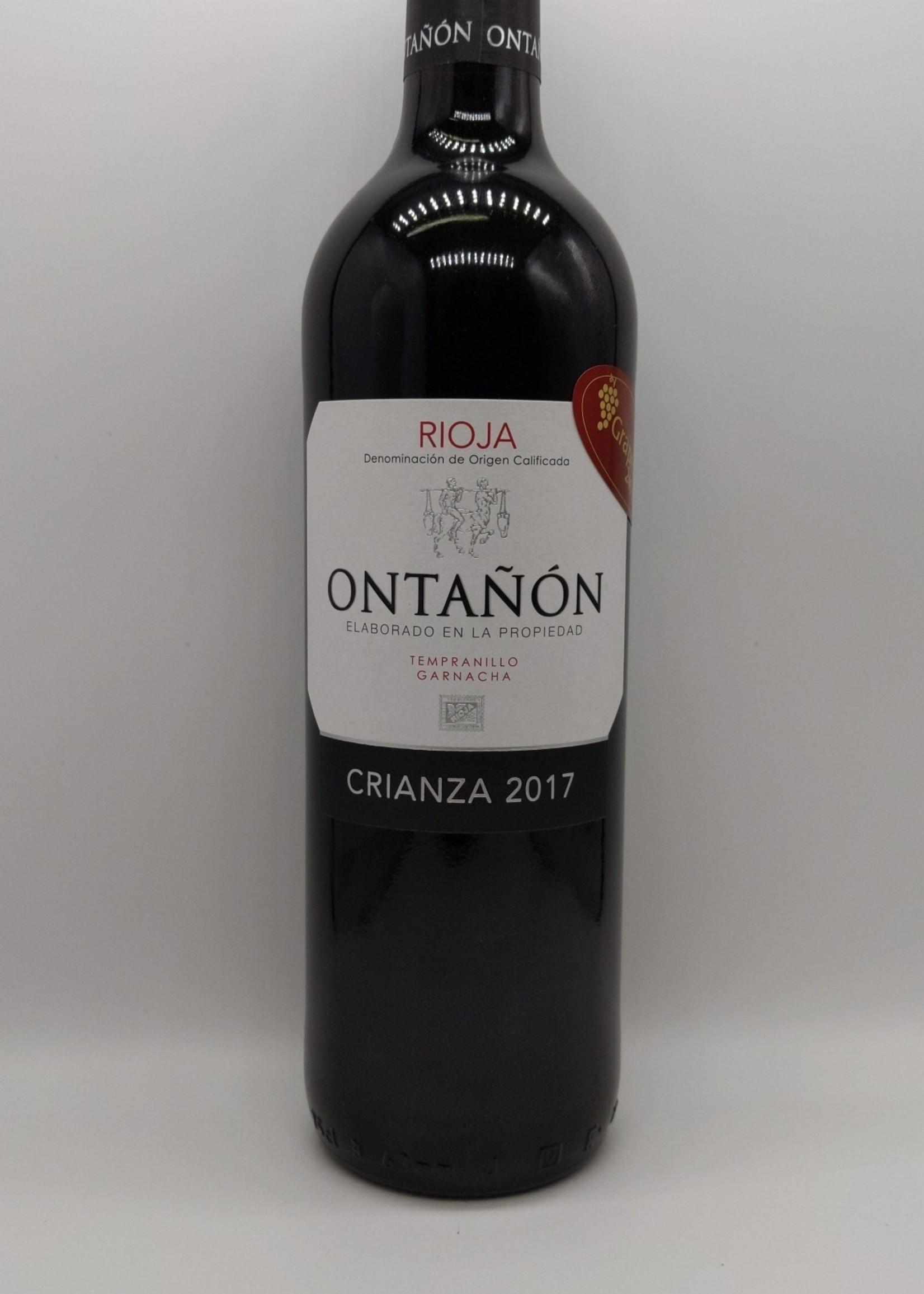 2017 ONTANON RIOJA CRIANZA 750ml