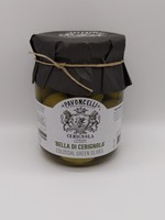PAVONCELLI BELLA DE CERIGNOLA OLIVES 550g Jar