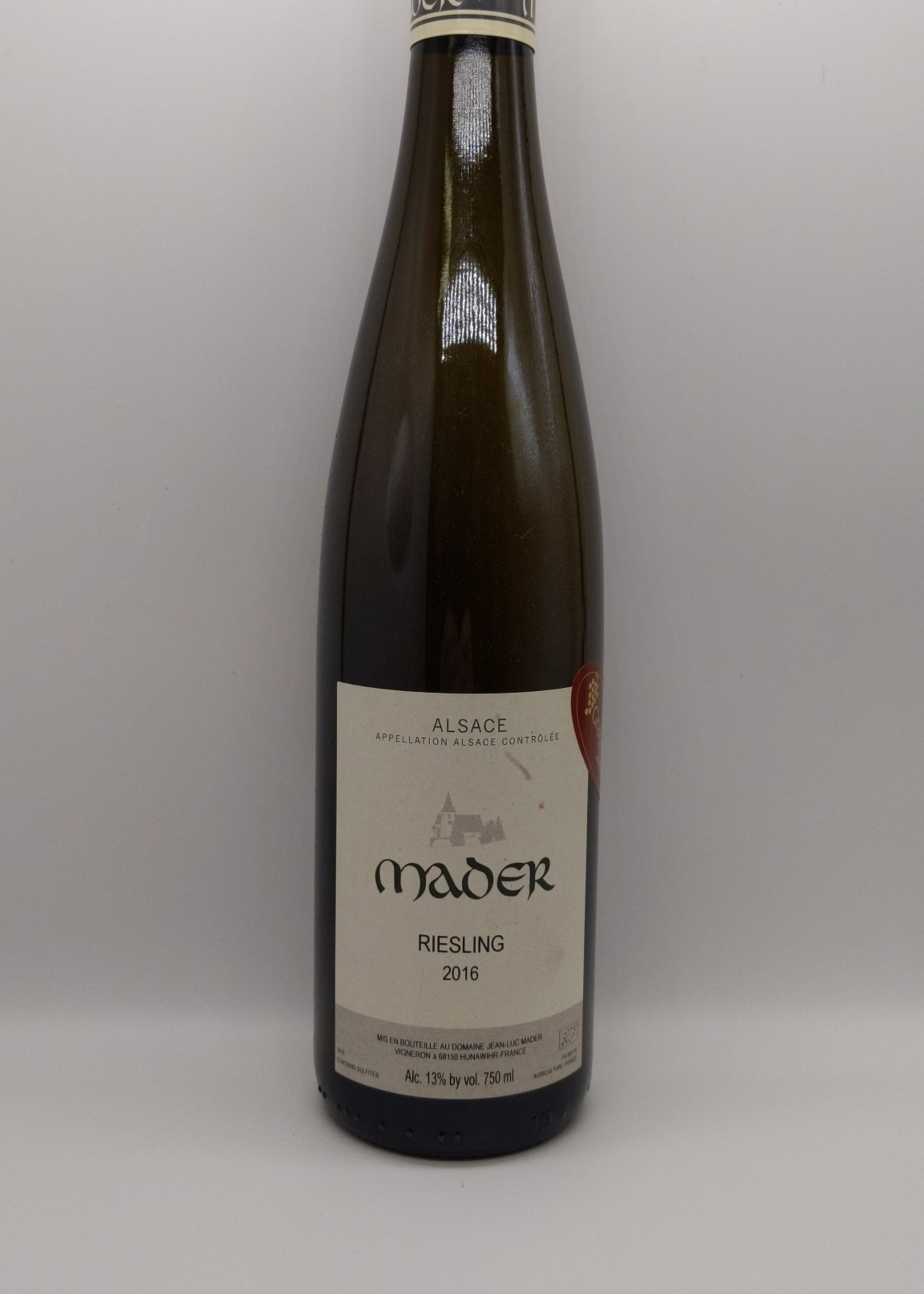 2018 JEAN LUC MADER ALSACE RIESLING 750ml