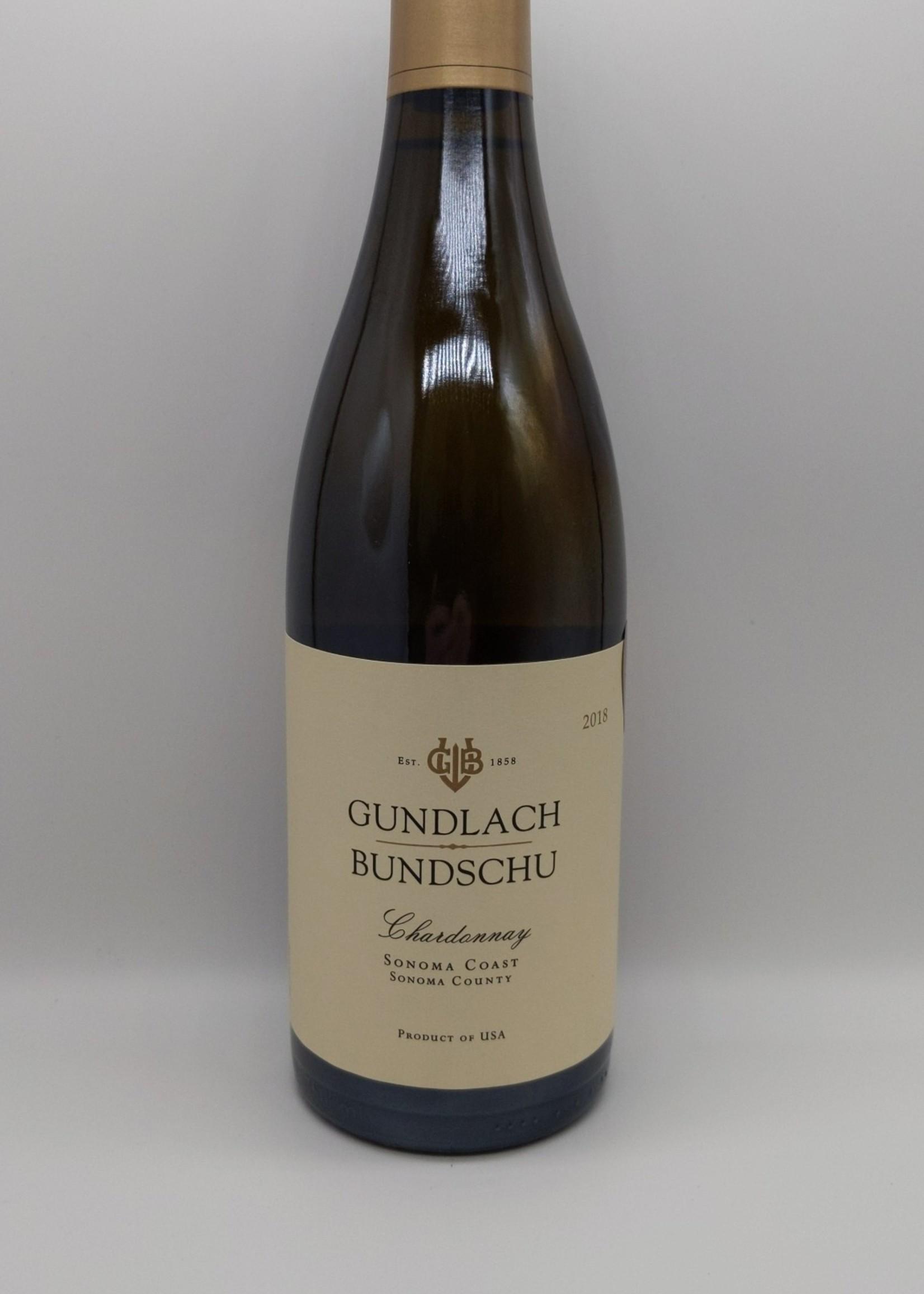 2018 GUNLACH BUNDSCHU CHARDONNAY 750ml