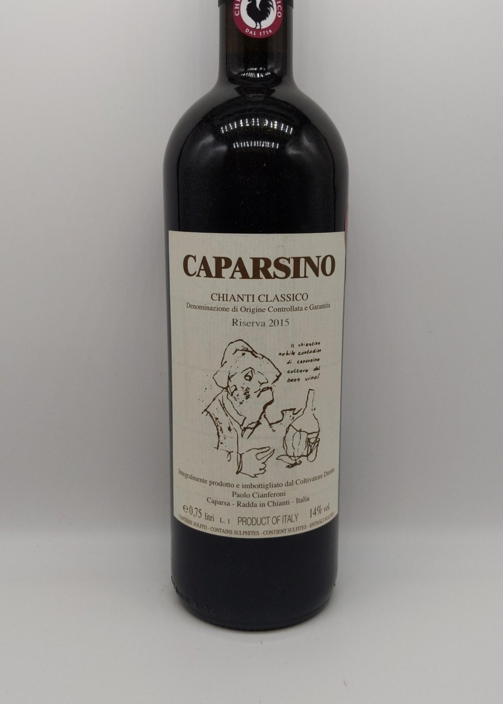 2015 CAPARSA CAPARSINO CHIANTI CLASSICO RISERVA 750ml