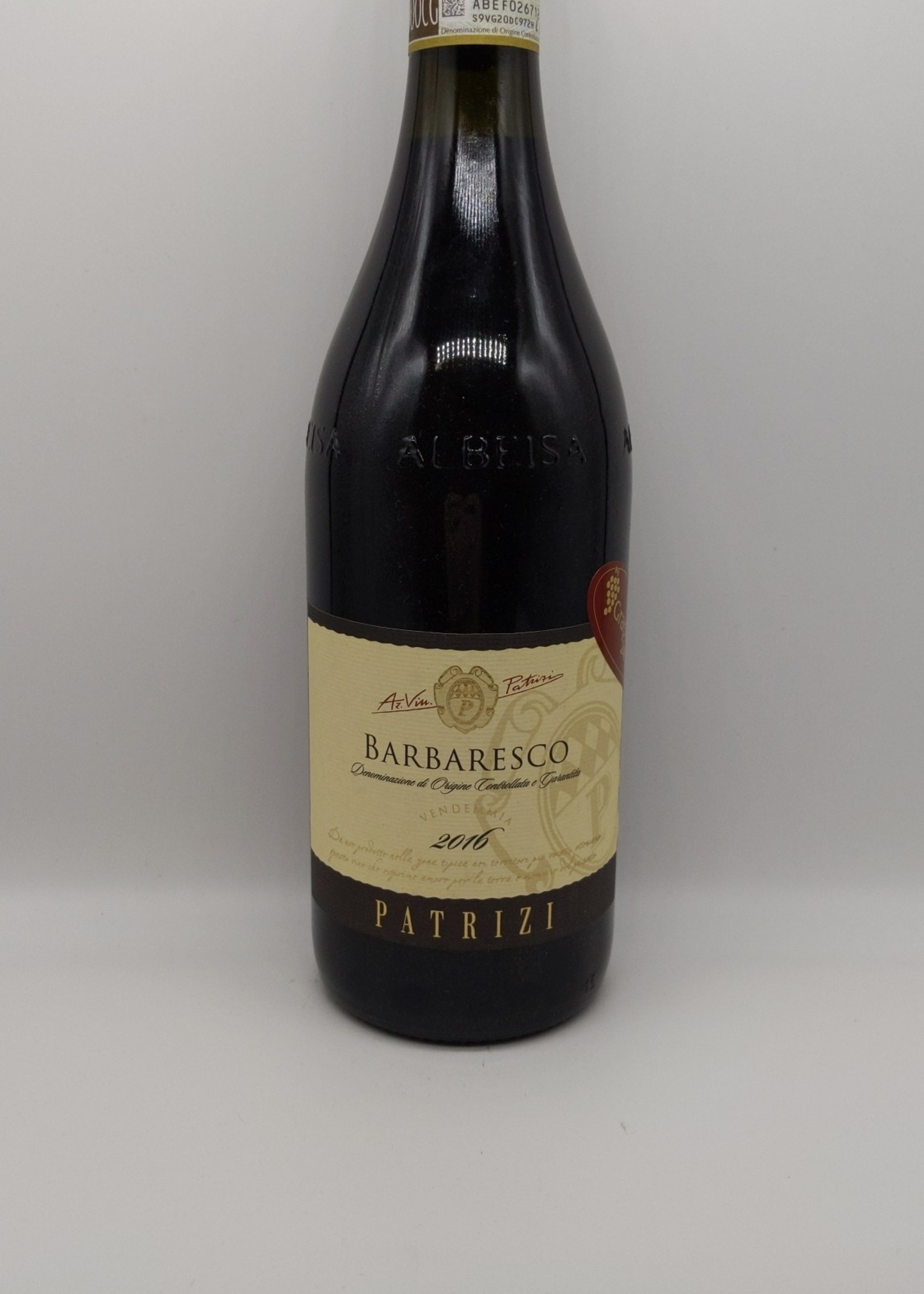 2016 PATRIZI BARBARESCO 750ml