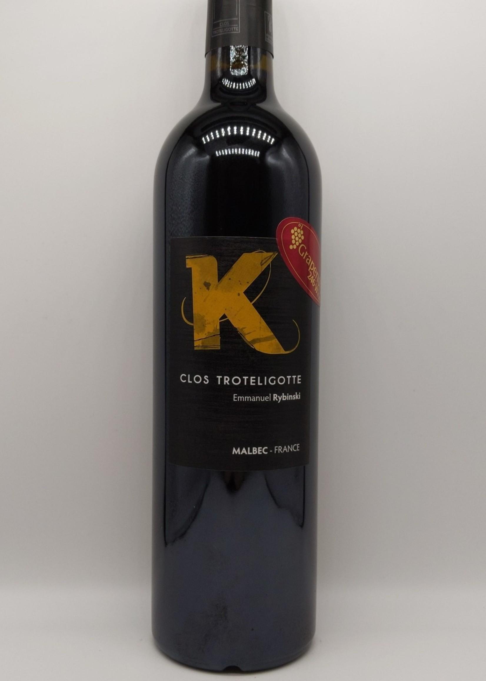2012 CLOS TROTELIGOTTE K-LYS MALBEC 750ml