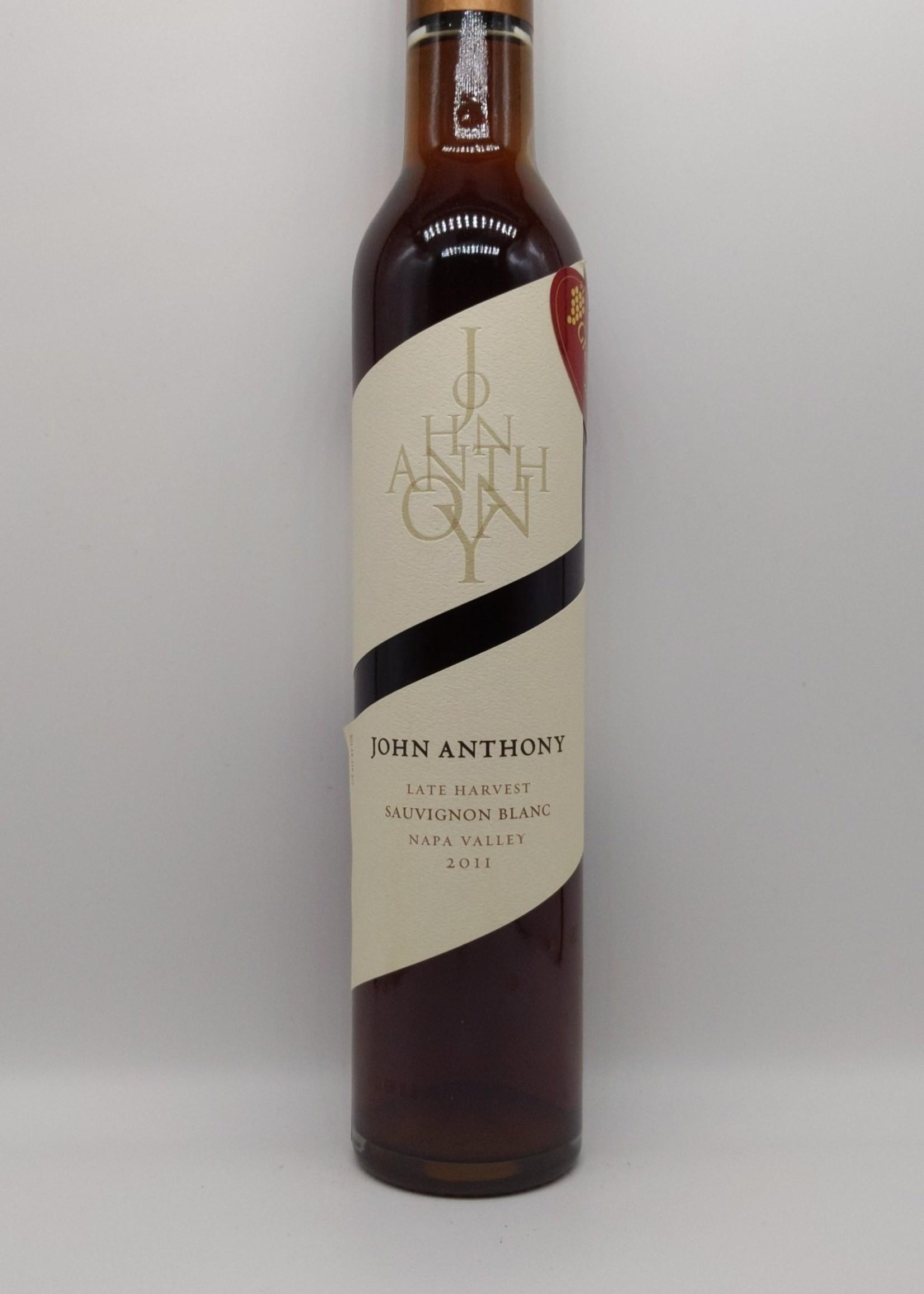2011 JOHN ANTHONY LATE HARVEST SAUVIGNON BLANC 375ml
