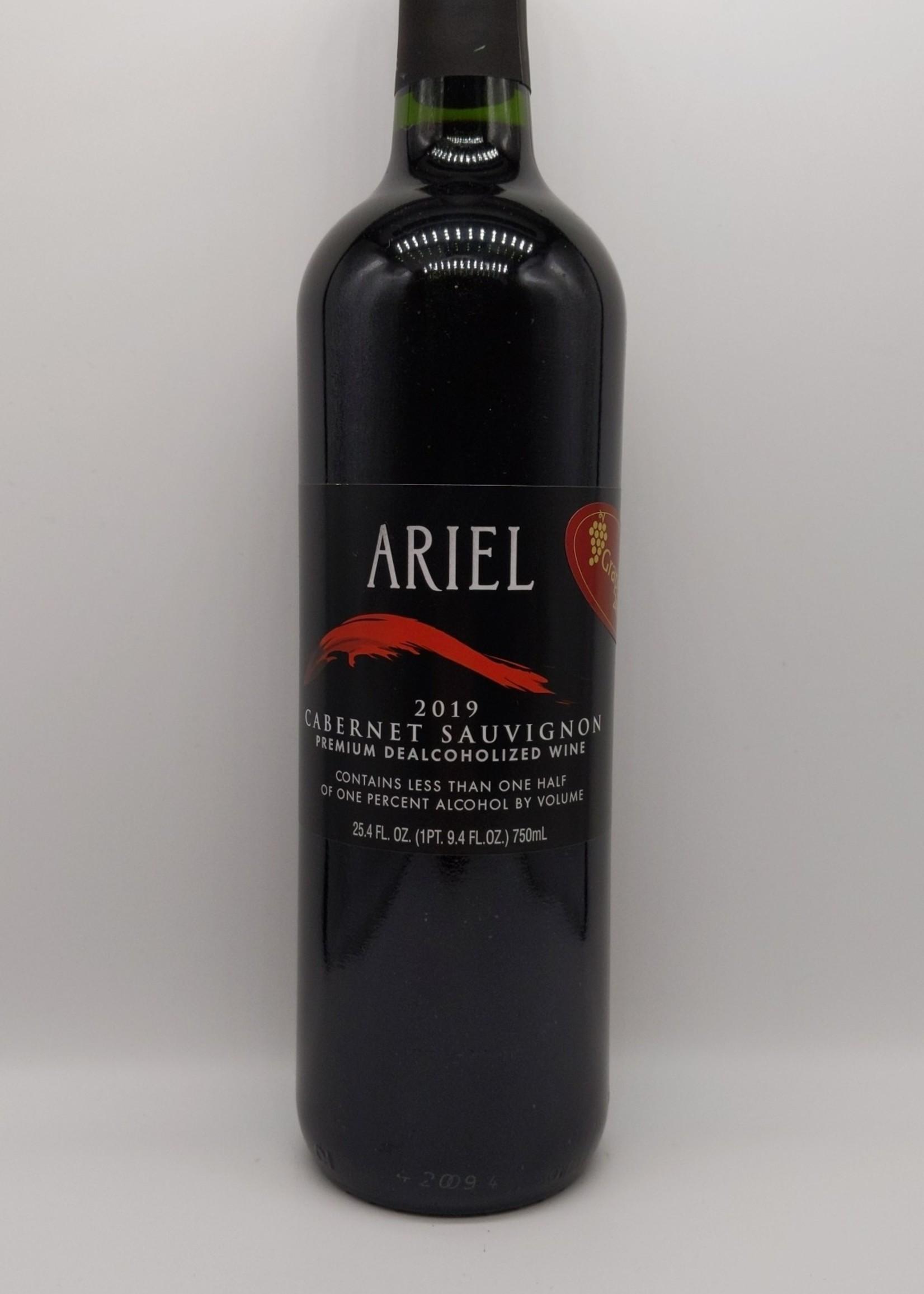 2019 ARIEL NON-ALCOHOLIC CABERNET SAUVIGNON 750ml
