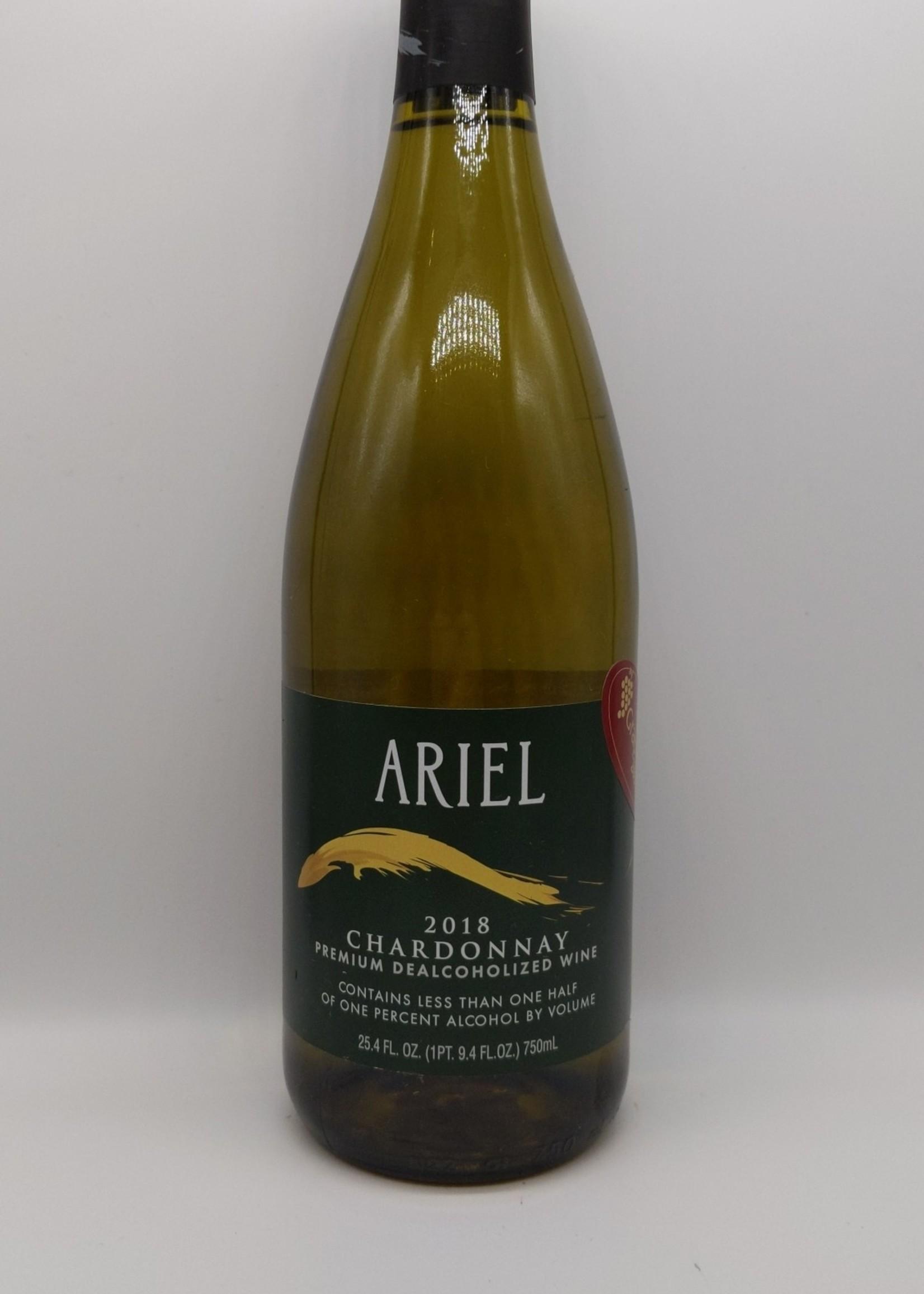 2018 ARIEL NON-ALCOHOLIC CHARDONNAY 750ml