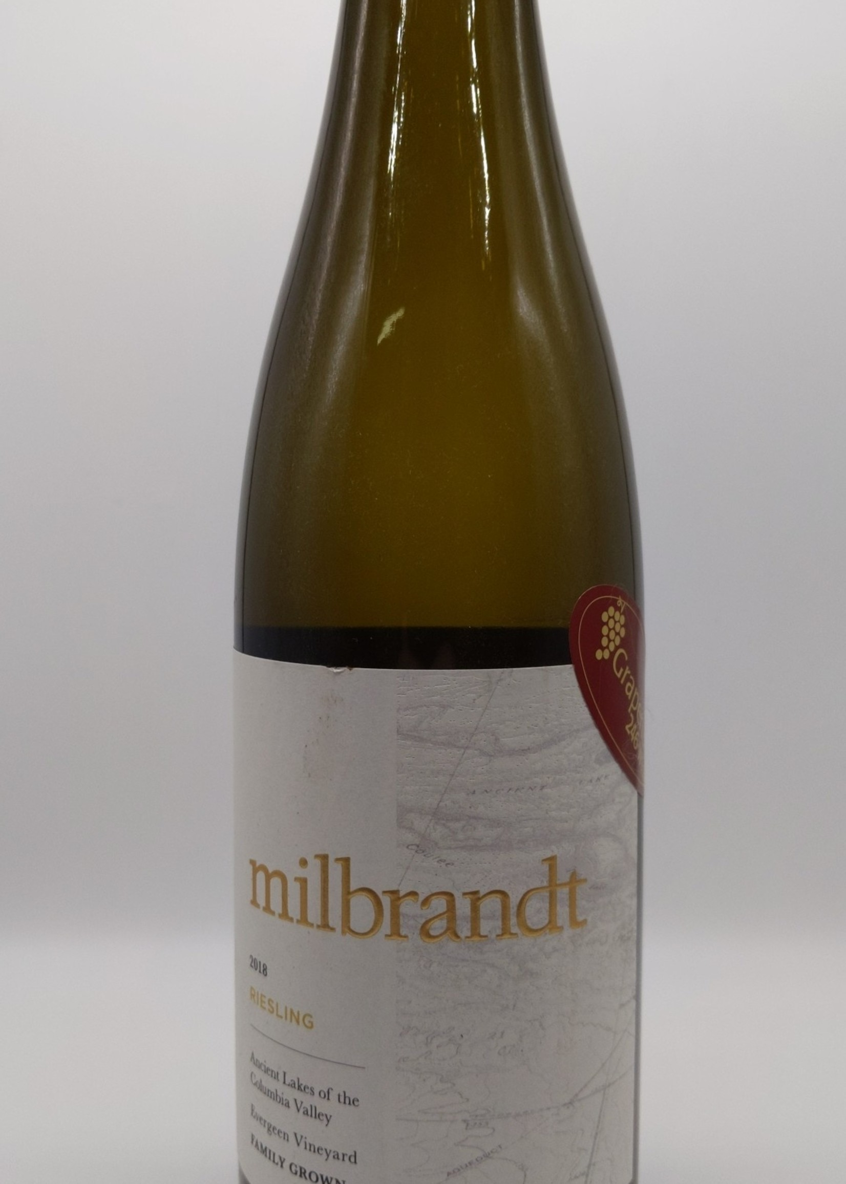 2018 MILBRANDT TRADITIONS RIESLING 750ml