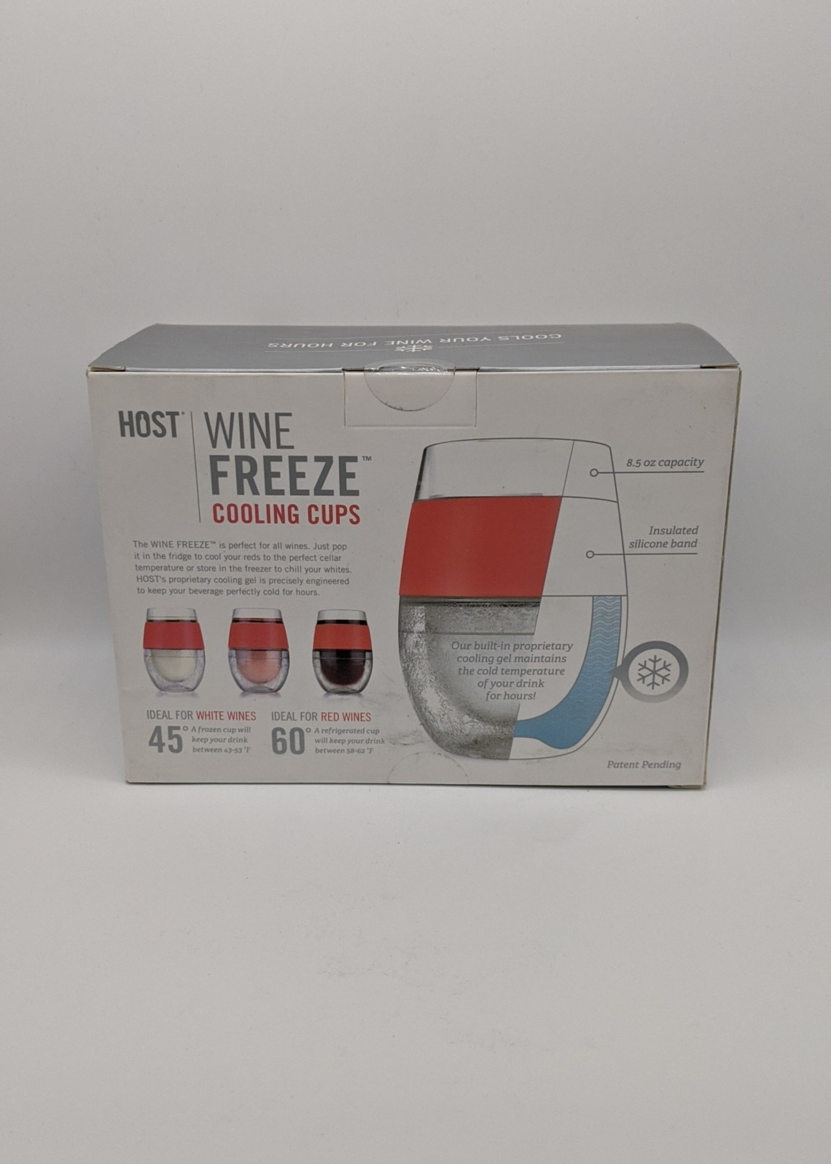 HOST FREEZE COOL WINE TWO PACK CORAL