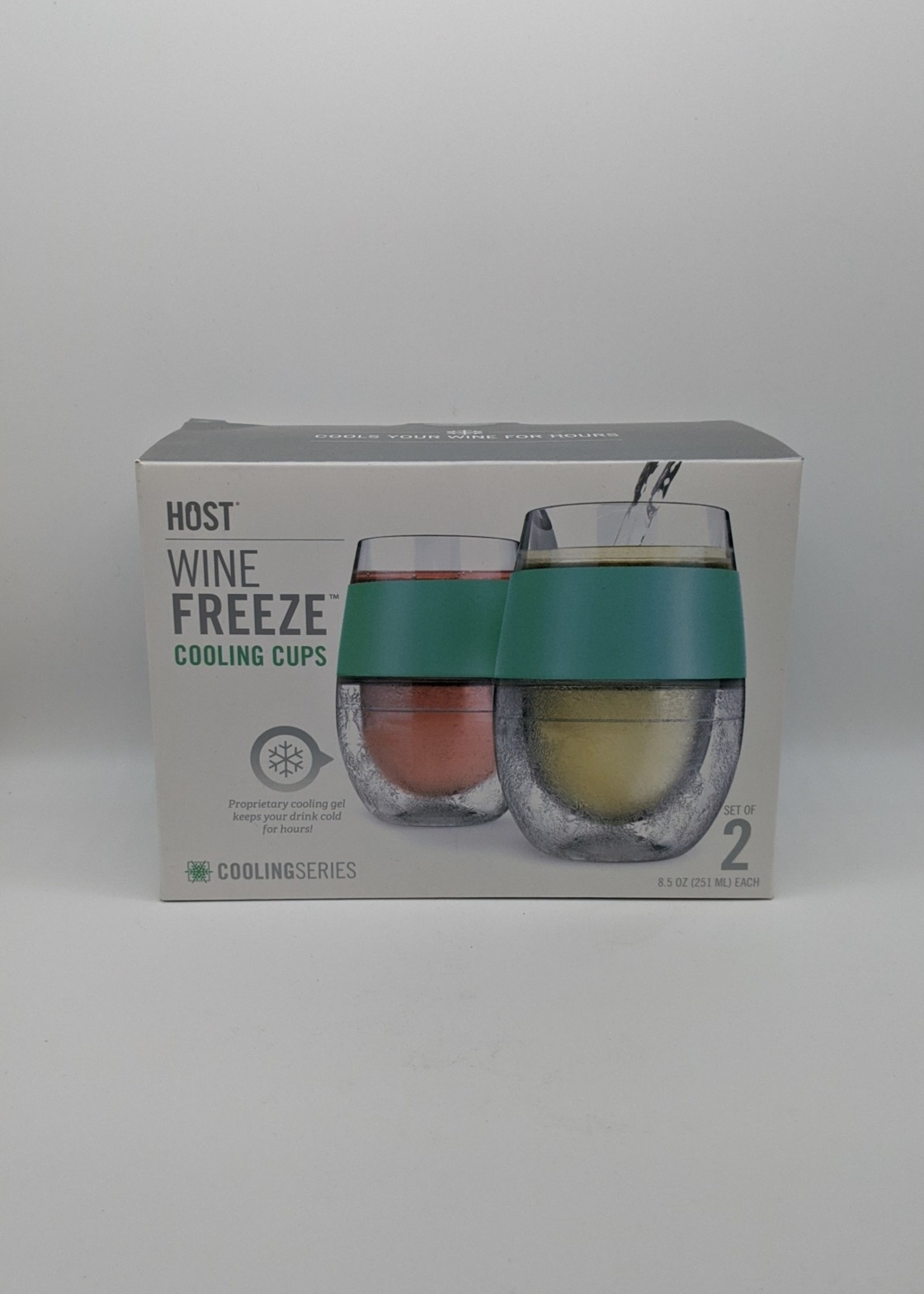 HOST FREEZE COOL WINE TWO PACK GREEN