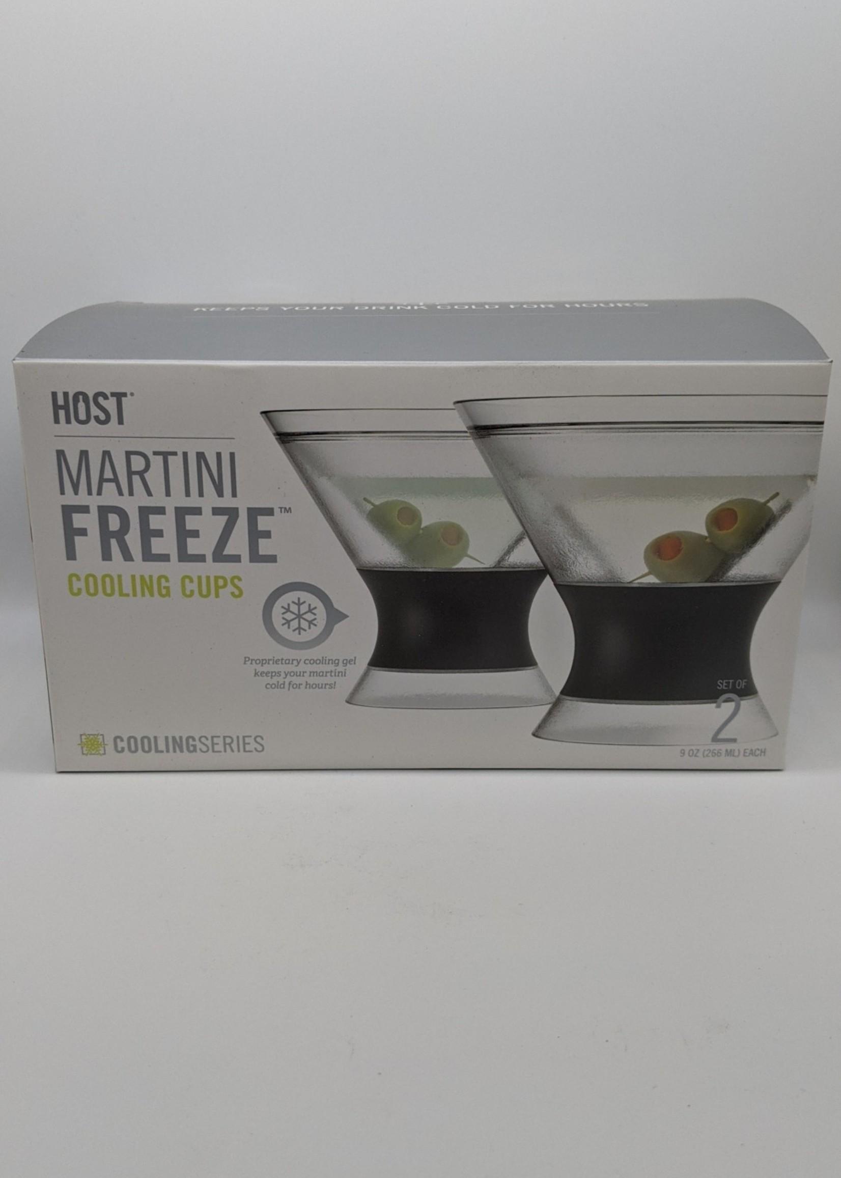 HOST FREEZE COOL MARTINI GLASS