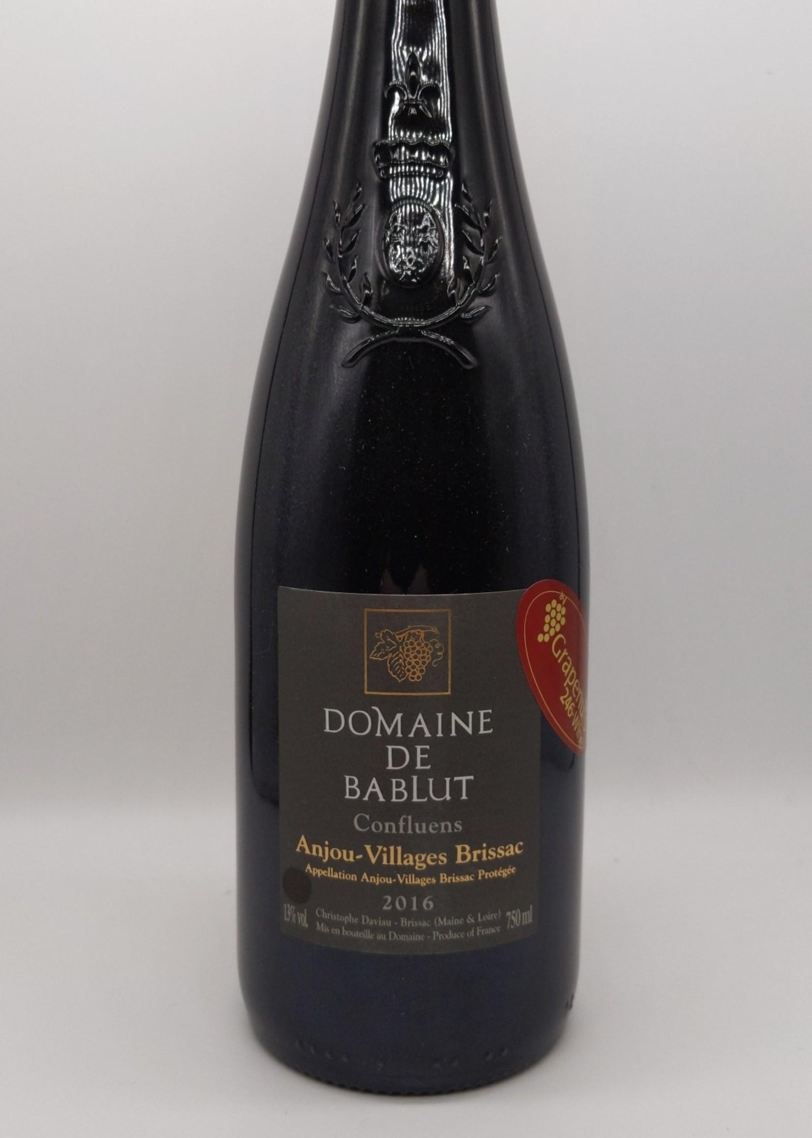 2016 DOMAINE BABLUT CONFLUENS  ROUGE 750ml