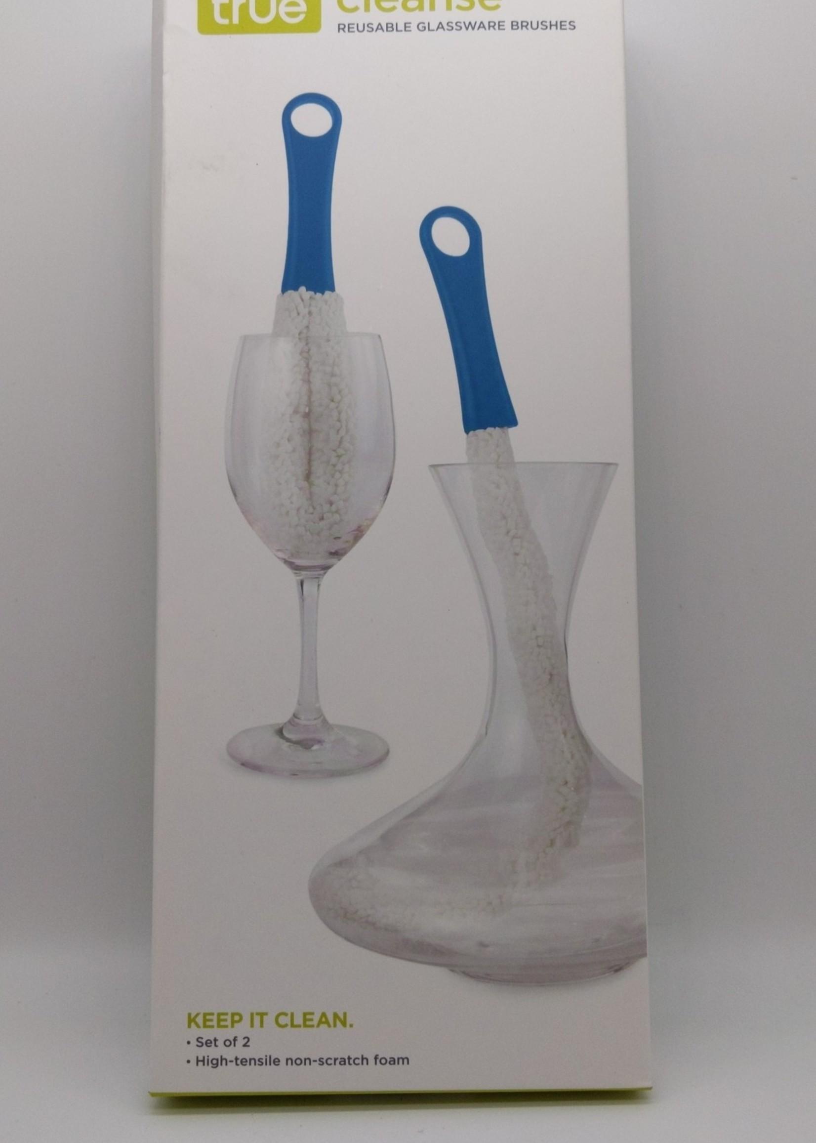 TRUE GLASSWARE BRUSHES