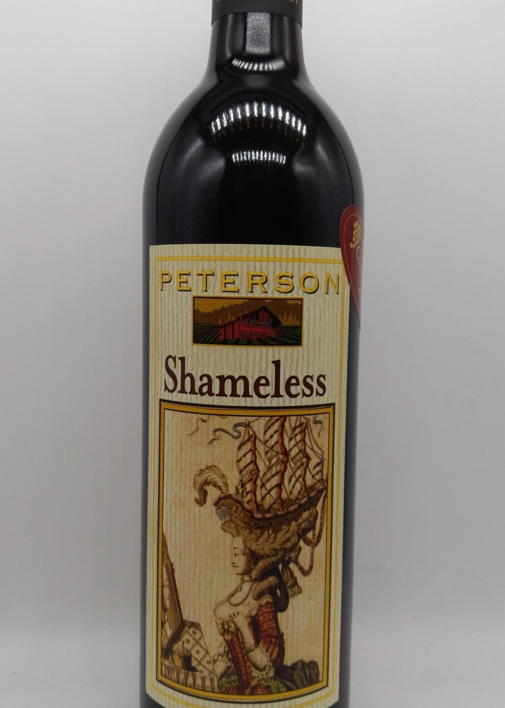 NV PETERSON SHAMELESS RED 750ml