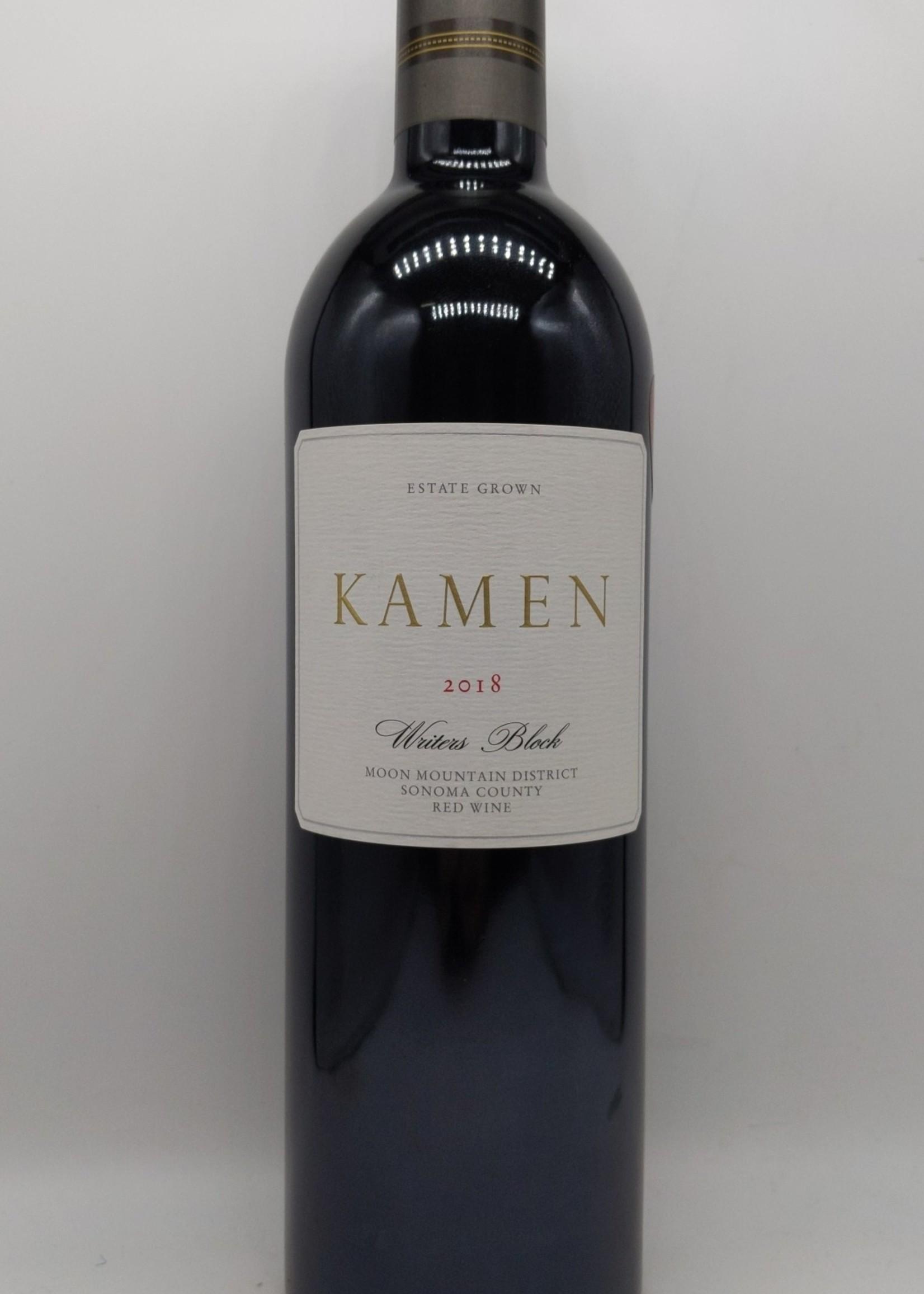 2018 KAMEN WRITERS BLOCK RED MOON MOUNTAIN DISTRICT 750ml