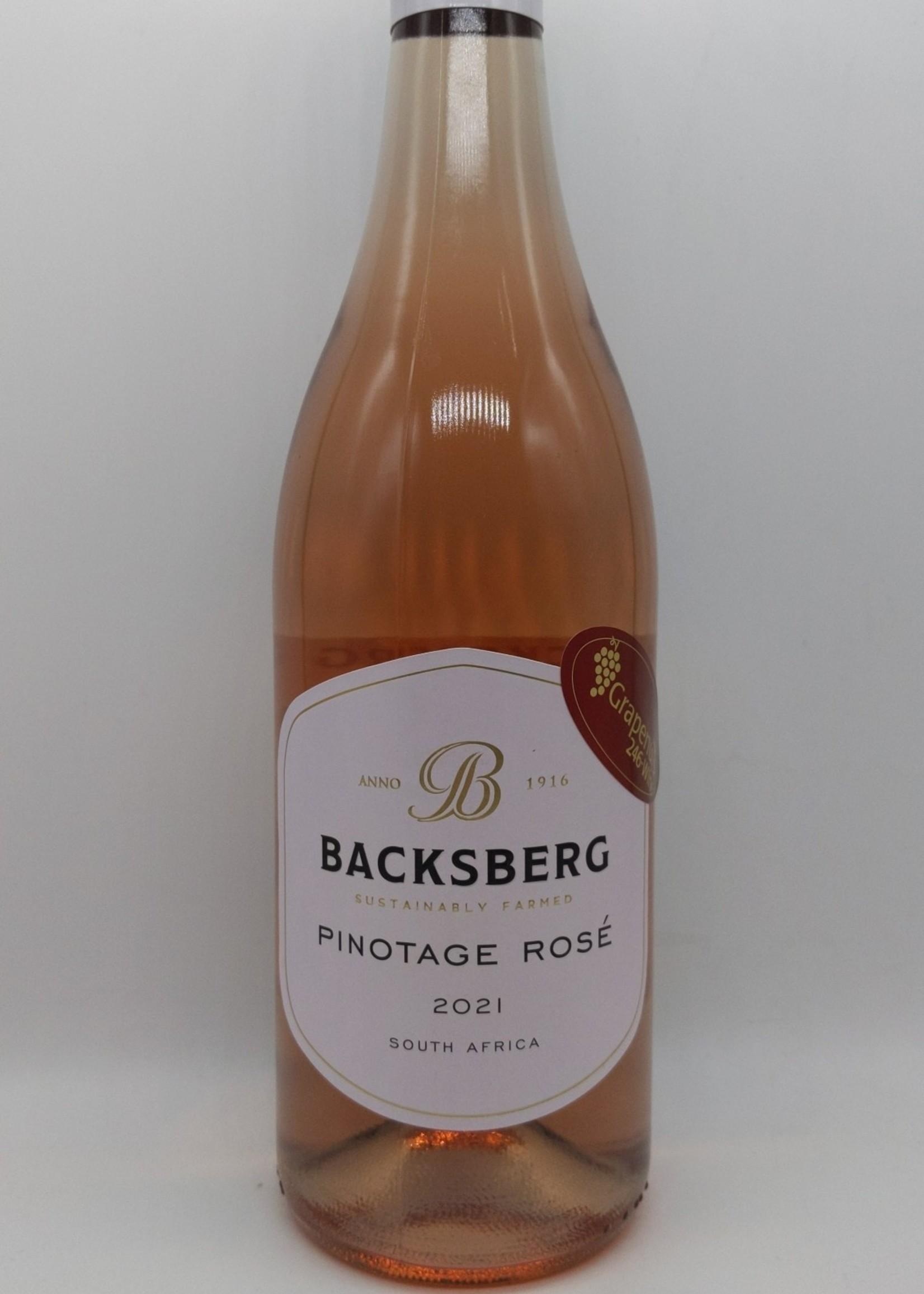 2021 BACKSBERG PINOTAGE ROSE 750ml