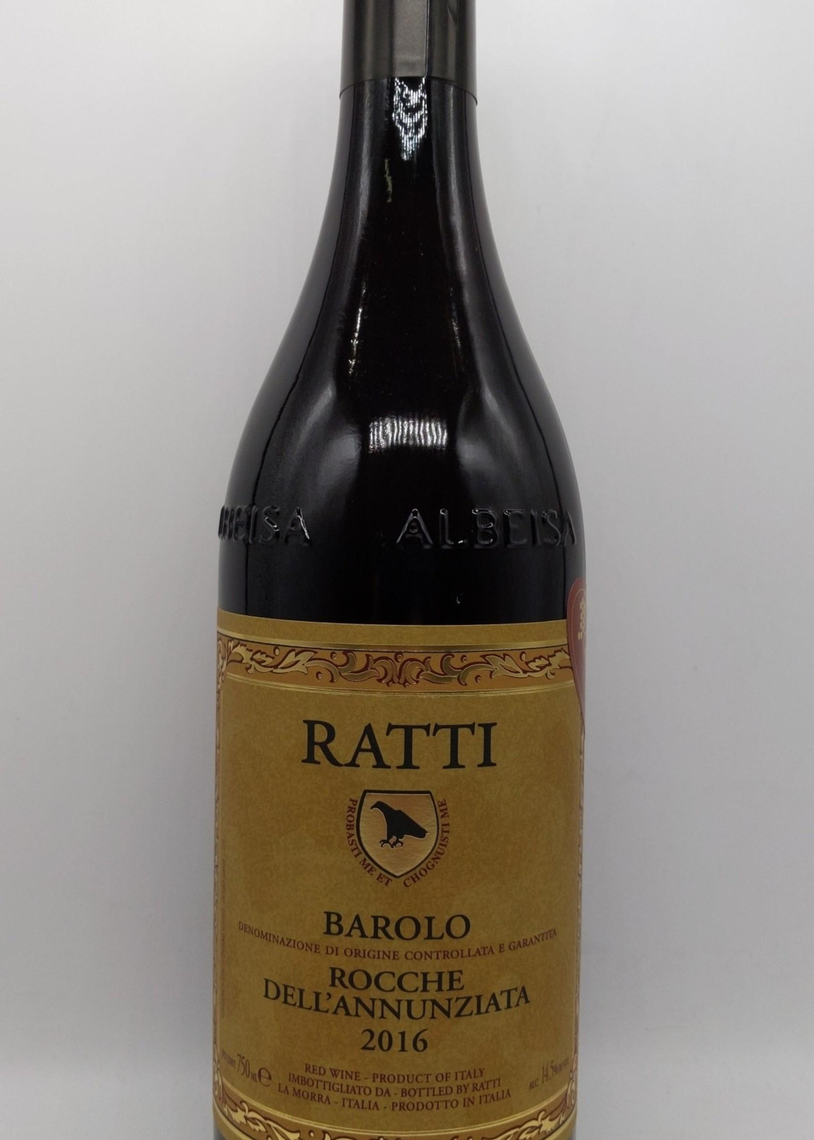 2016 RENATO RATTI BAROLO 750ml