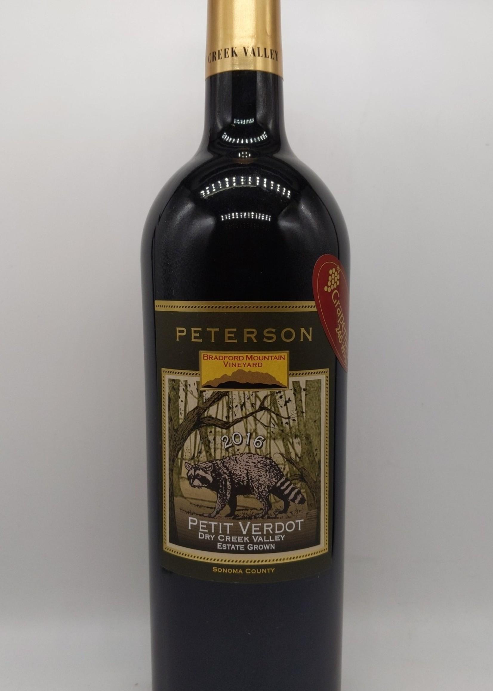 2016 PETERSON BRADFORD MOUNTAIN PETIT VERDOT 750ml