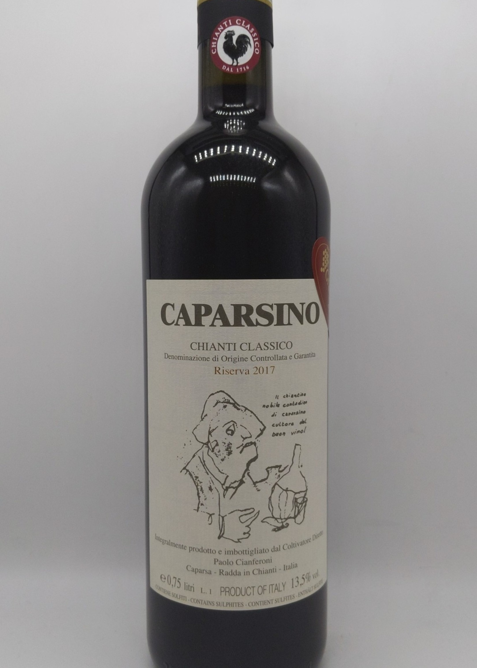 2017 CAPARSA CARPARSINO CHIANTI CLASSICO RISERVA 750