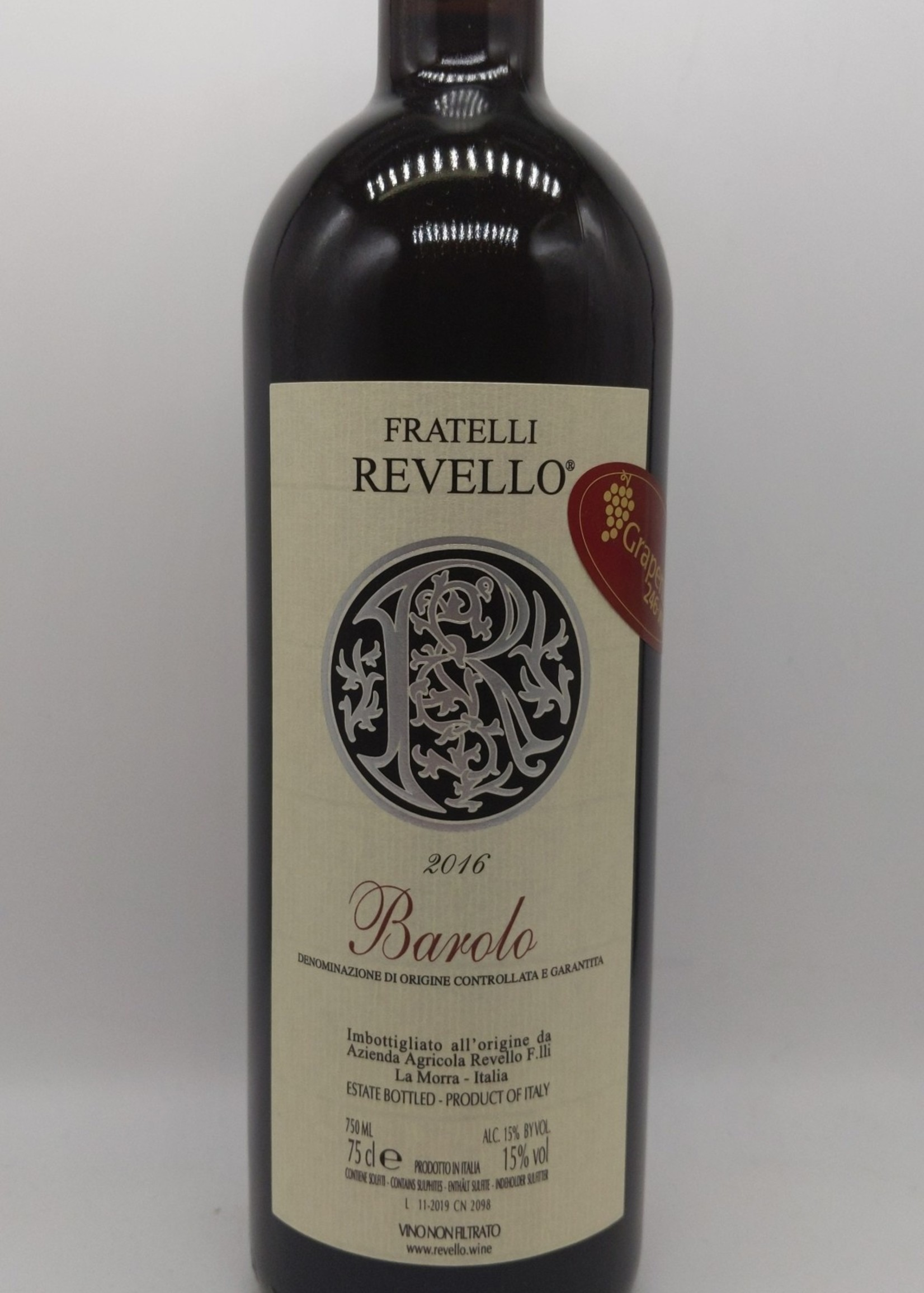 2016 FRATELLI REVELLO BAROLO 750ml