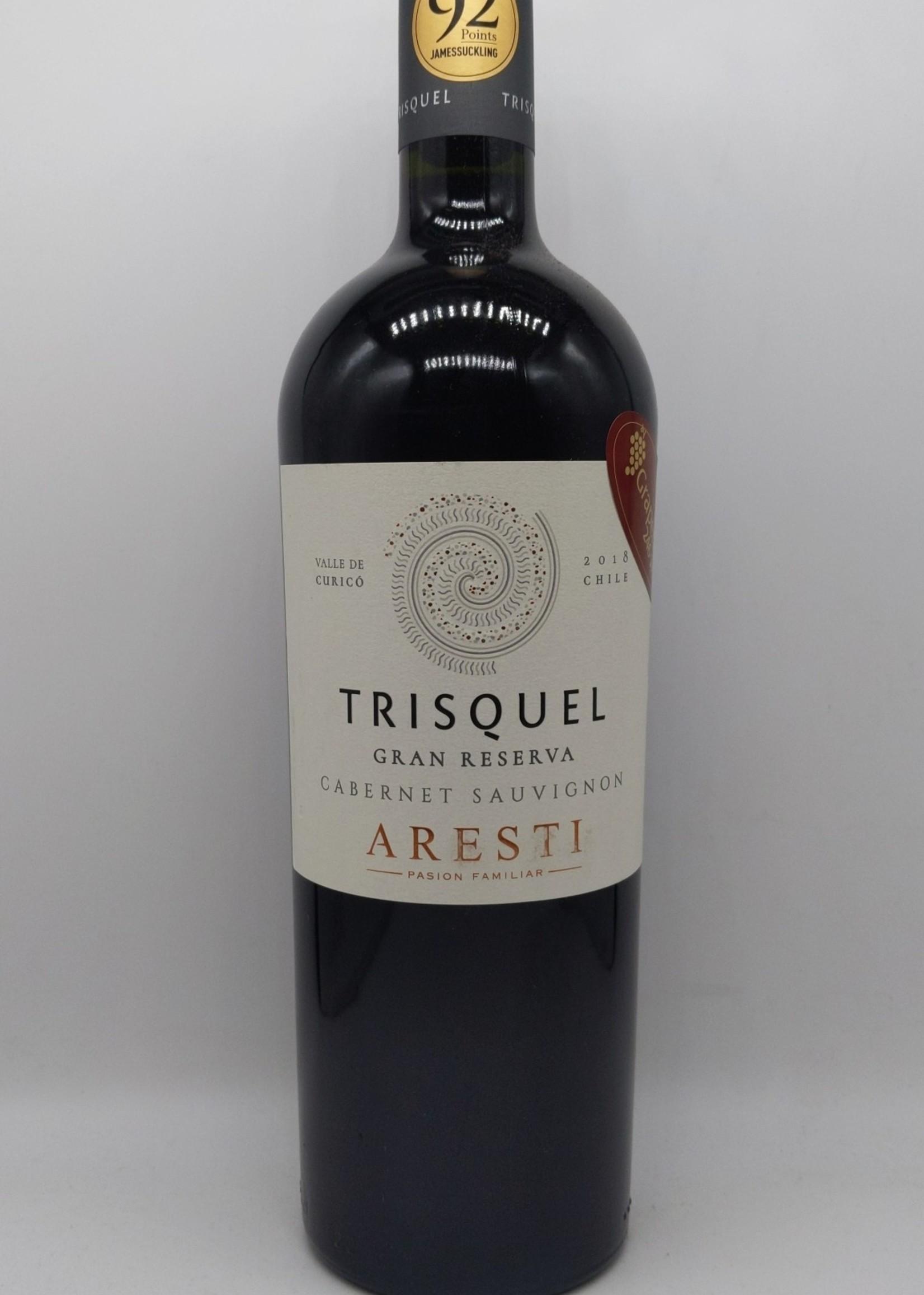 2018 ARESTI TRISQUEL CABERNET SAUVIGNON 750ml