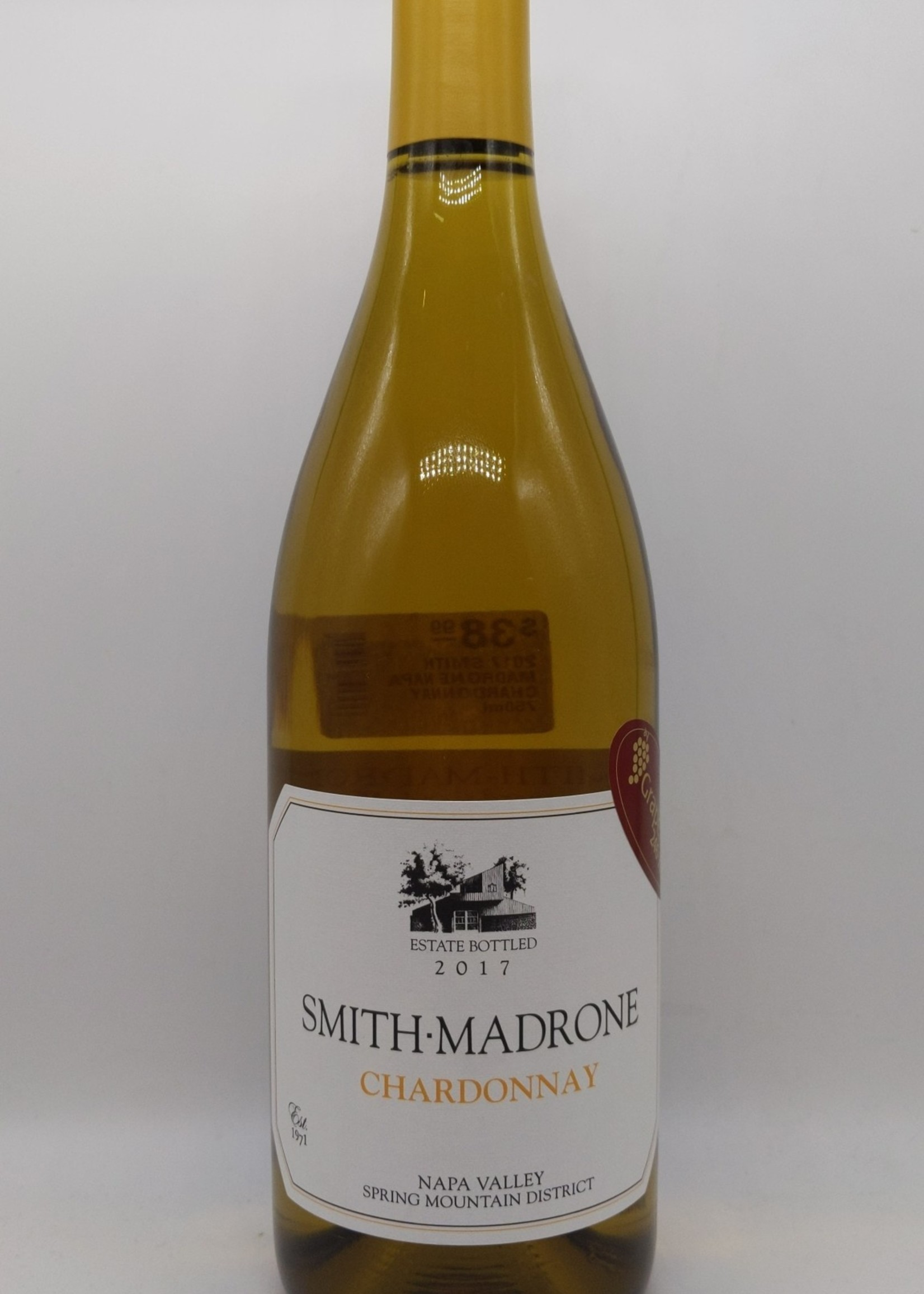 2017 SMITH MADRONE NAPA CHARDONNAY 750ml