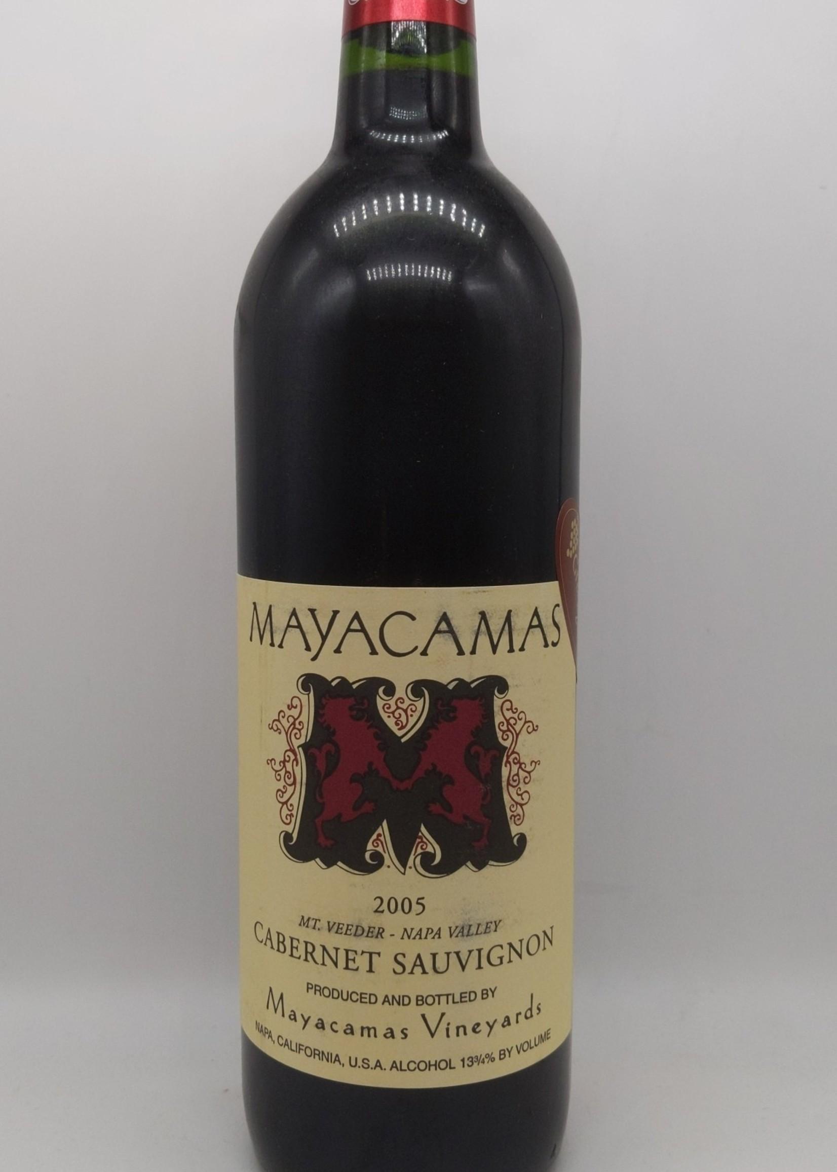 2005 MAYACAMAS CABERNET SAUVIGNON 750ml