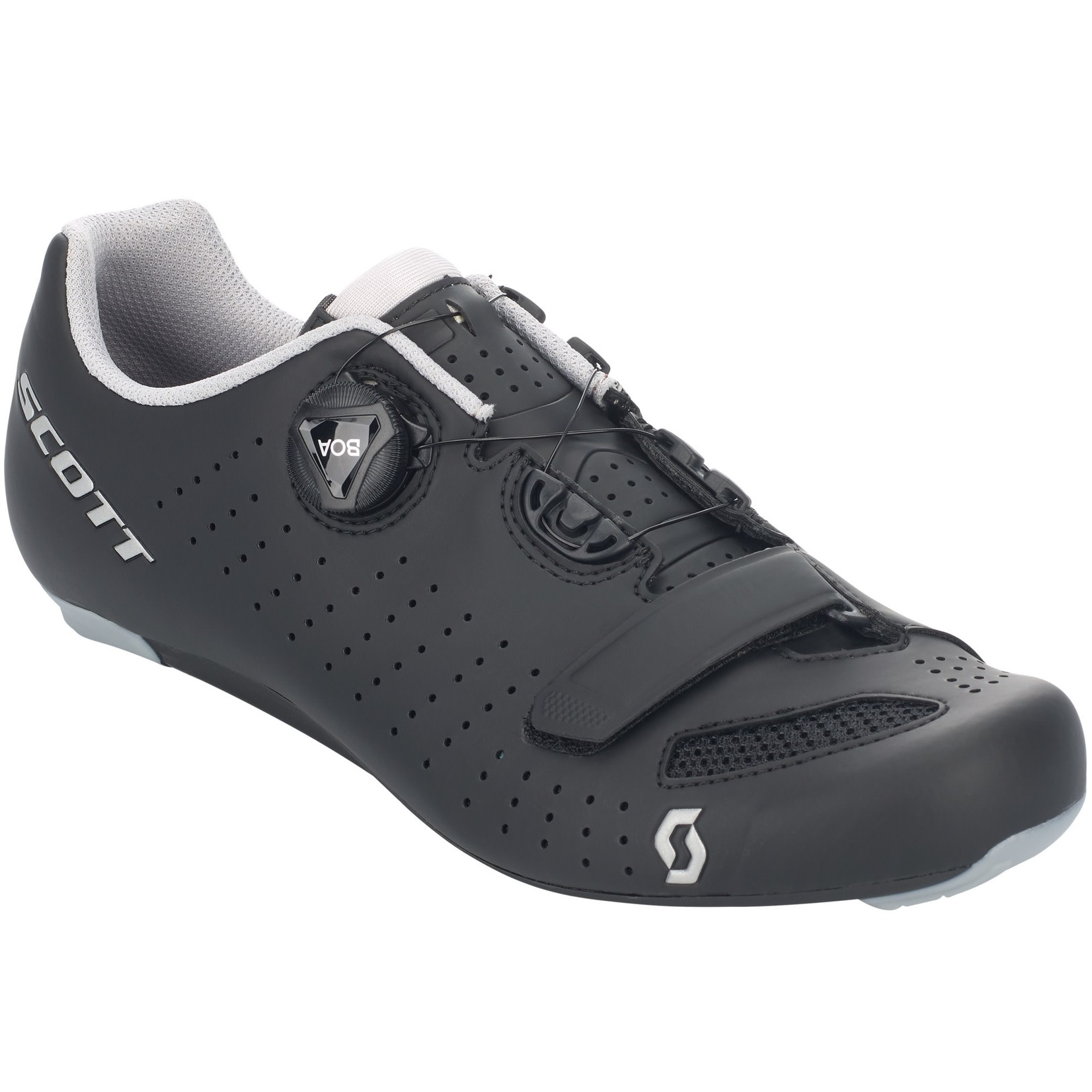 Scott SCOTT ROAD COMP BOA® SHOE Black/silver