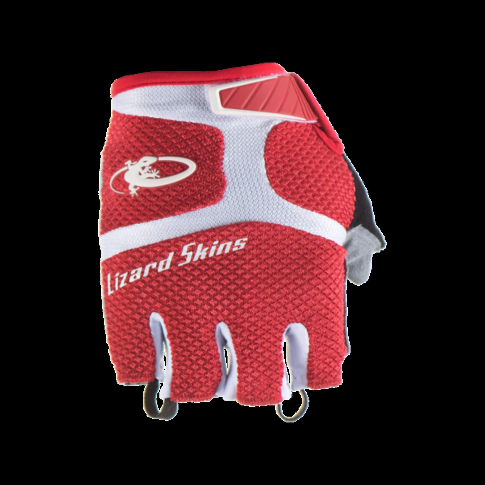 LIZARD SKINS Lizard Skins Aramus GC Gloves - Crimson, Short Finger