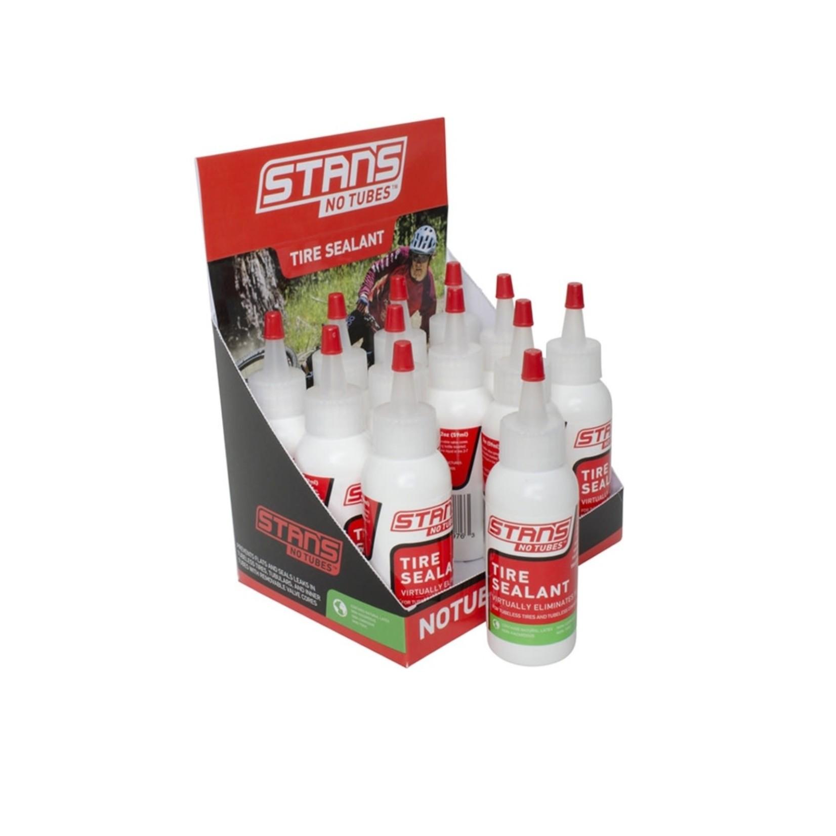Stan's No-Tubes ST0071 2oz TIRE SEALANT 1-TIRE ea (12/bx)