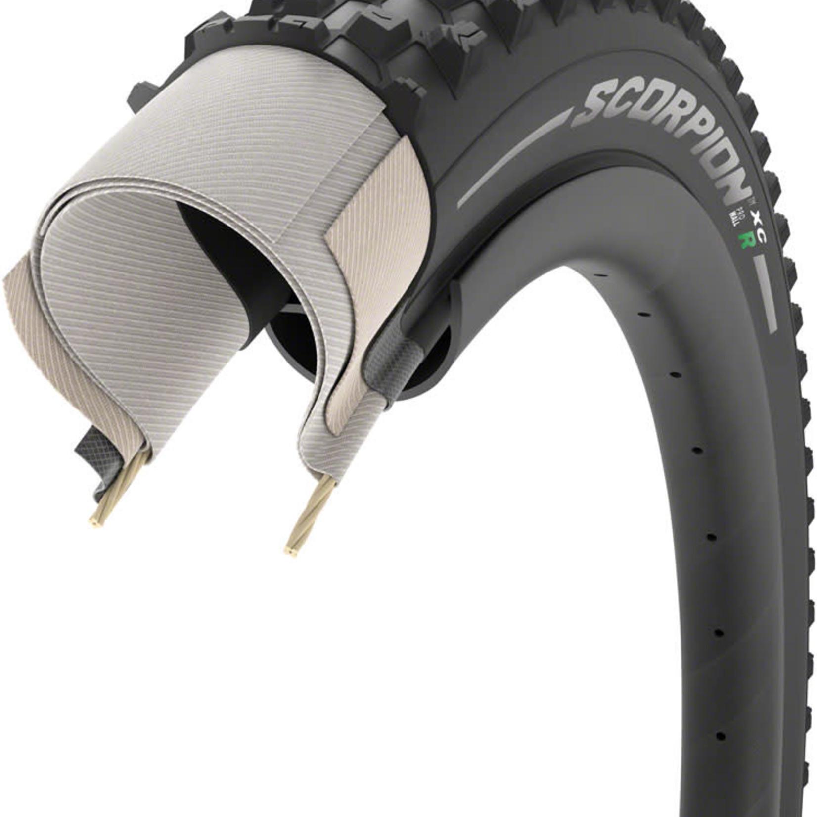 Pirelli Tire LLC Pirelli Scorpion XC R Tire - 29 x 2.2, Tubeless, Folding, Black