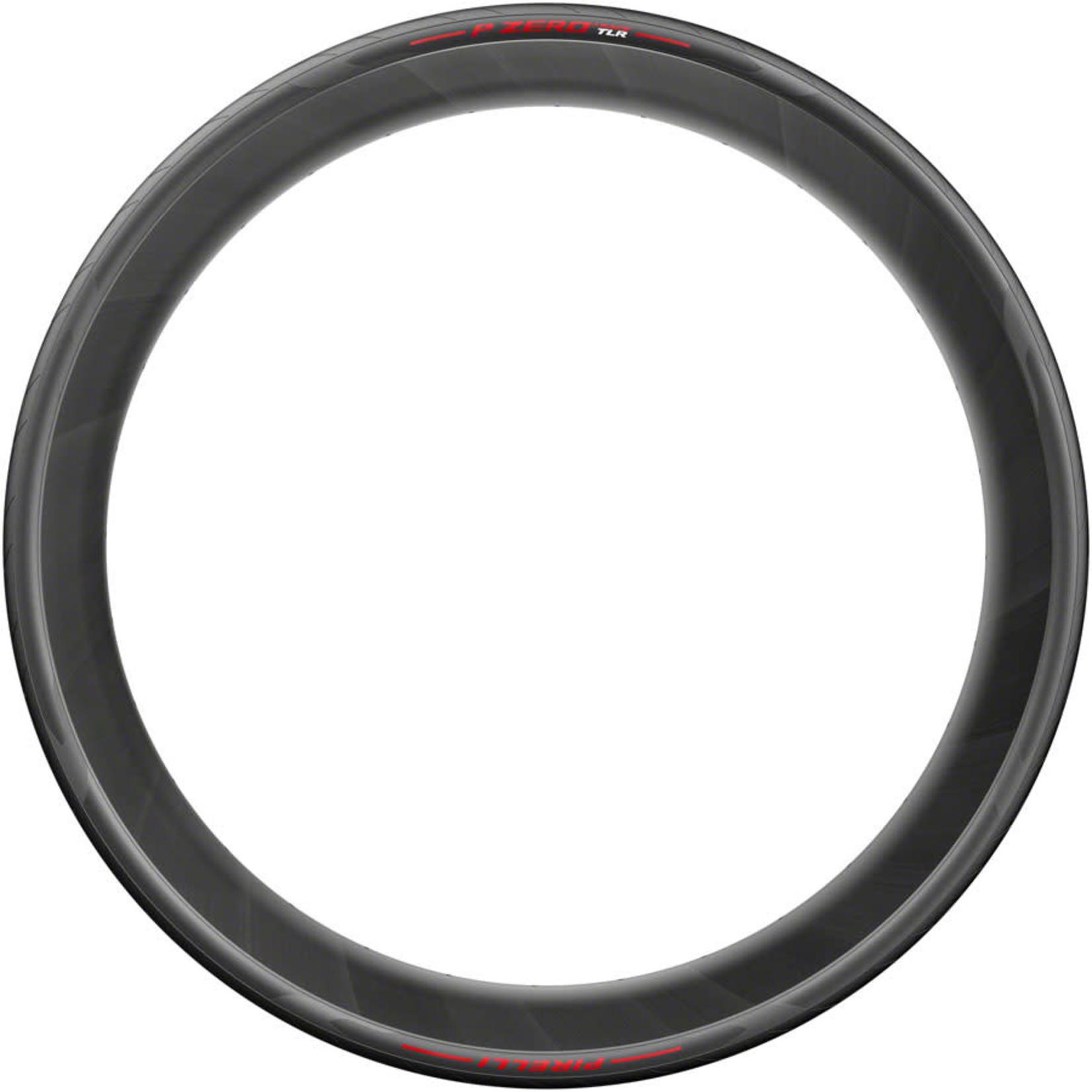 Pirelli Tire LLC Pirelli P ZERO Race TLR Tire - 700 x 26, Tubeless, Folding, Red Label