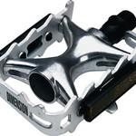 "Dimension Dimension Mountain Compe Pedals - Platform, Aluminum, 9/16"", Silver"