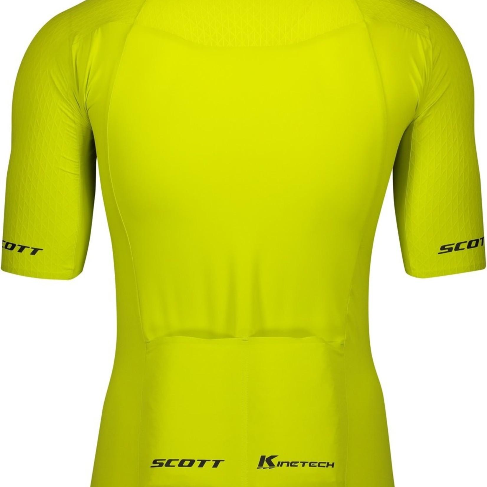 Scott SCOTT RC PREMIUM KINETECH S/SL MEN'S SHIRT Yellow