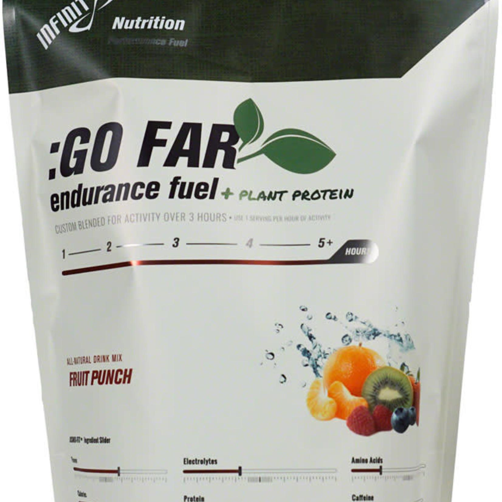 INFINIT NUTRITION LLC Infinit Nutrition Go Far Energy Drink Mix - Fruit Punch
