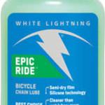 WHITE LIGHTNING White Lightning Epic Ride Bike Chain Lube - 4 fl oz, Drip
