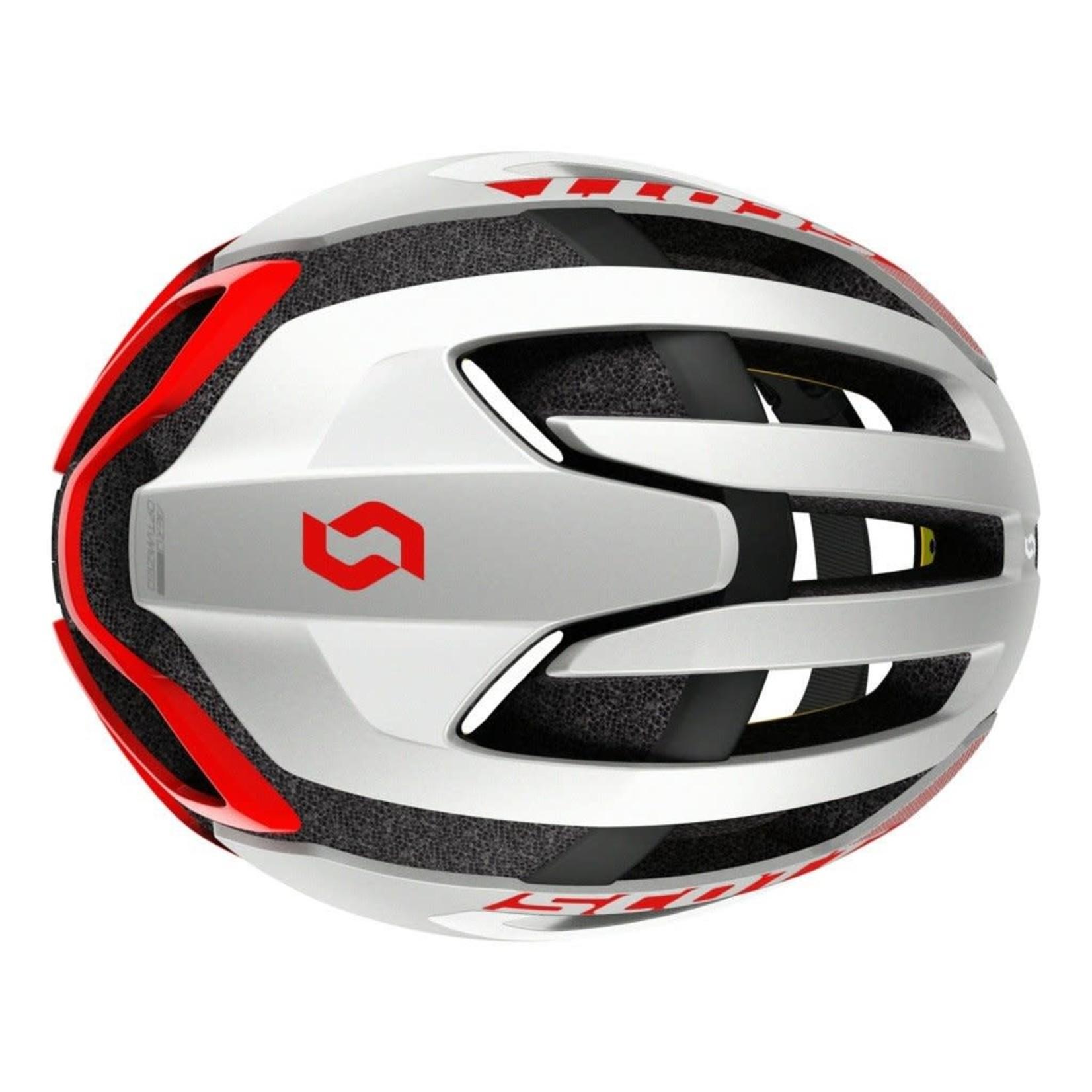 Scott SCO Helmet Centric PLUS (CPSC) white/red M