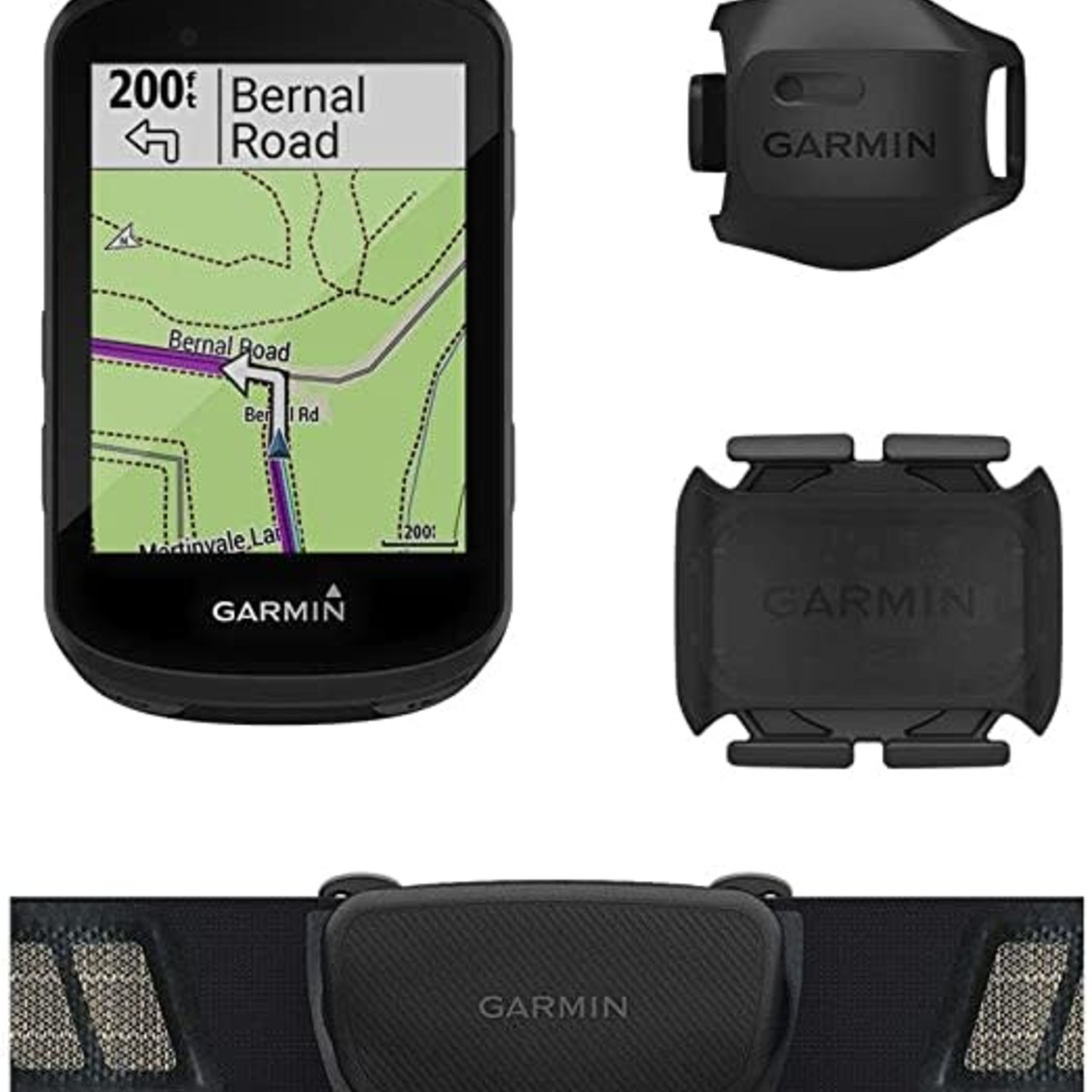 Garmin Garmin, Edge 530 Bundle, Computer, GPS: Yes, HR: Yes (Chest), Cadence: Yes, Black