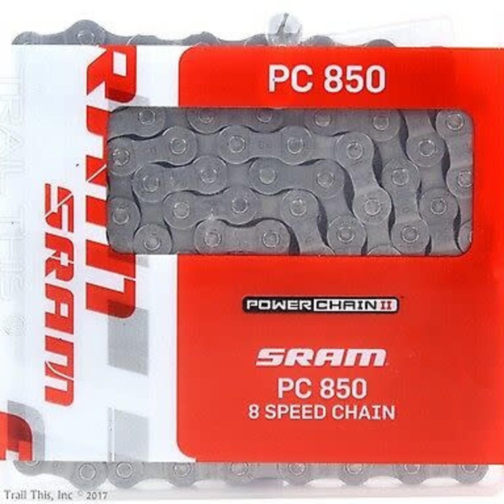 sram SRAM PC-850 Chain - 6, 7, 8-Speed, 114 Links, Silver