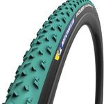 Michelin Michelin Power Cyclocross Mud Tire -700 x 33, Tubeless, Folding, Green/Black