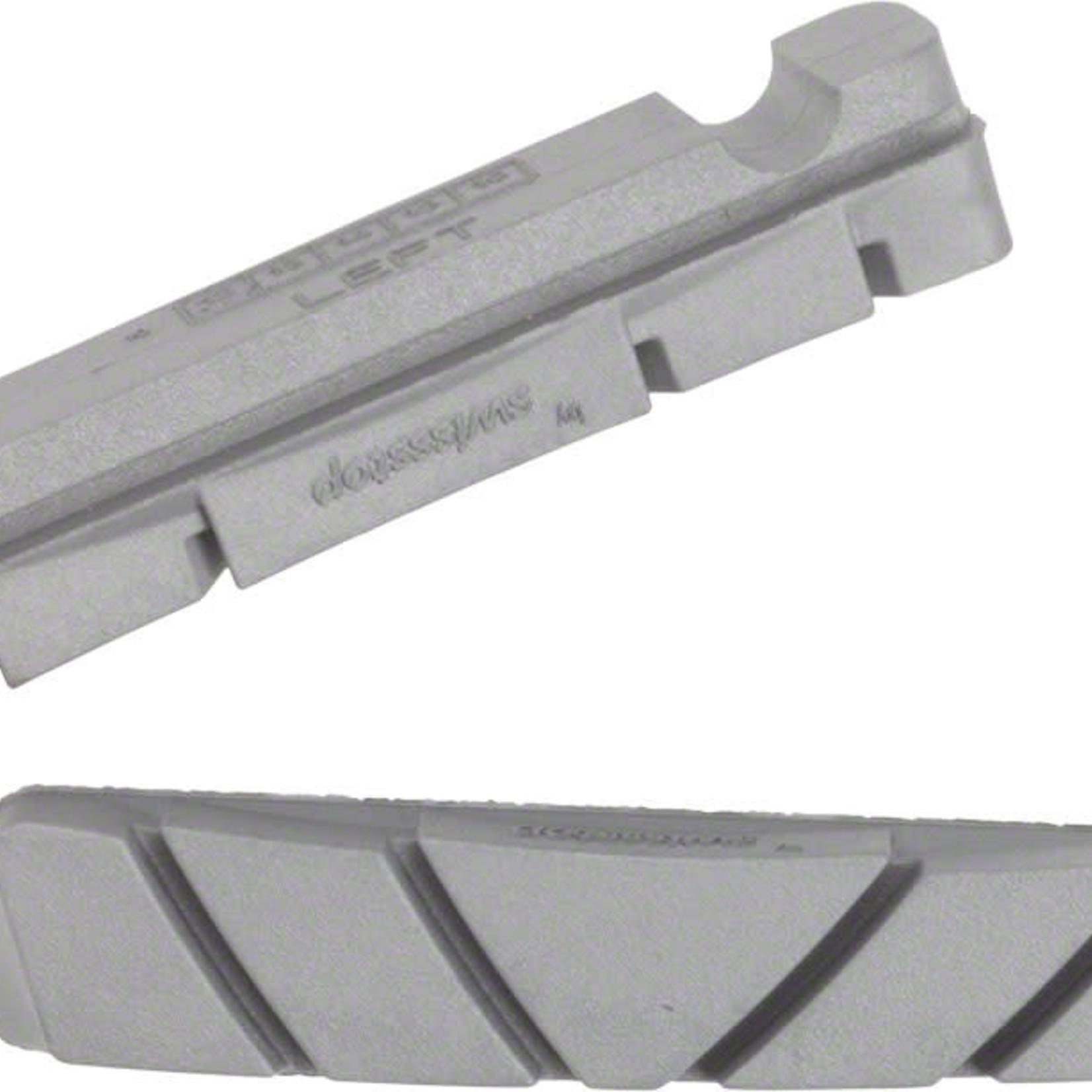 Zipp Speed Weaponry Zipp Speed Weaponry Tangente Platinum Pro Evo Brake Pad Inserts for Carbon Rims, SRAM/Shimano, 1 Pair