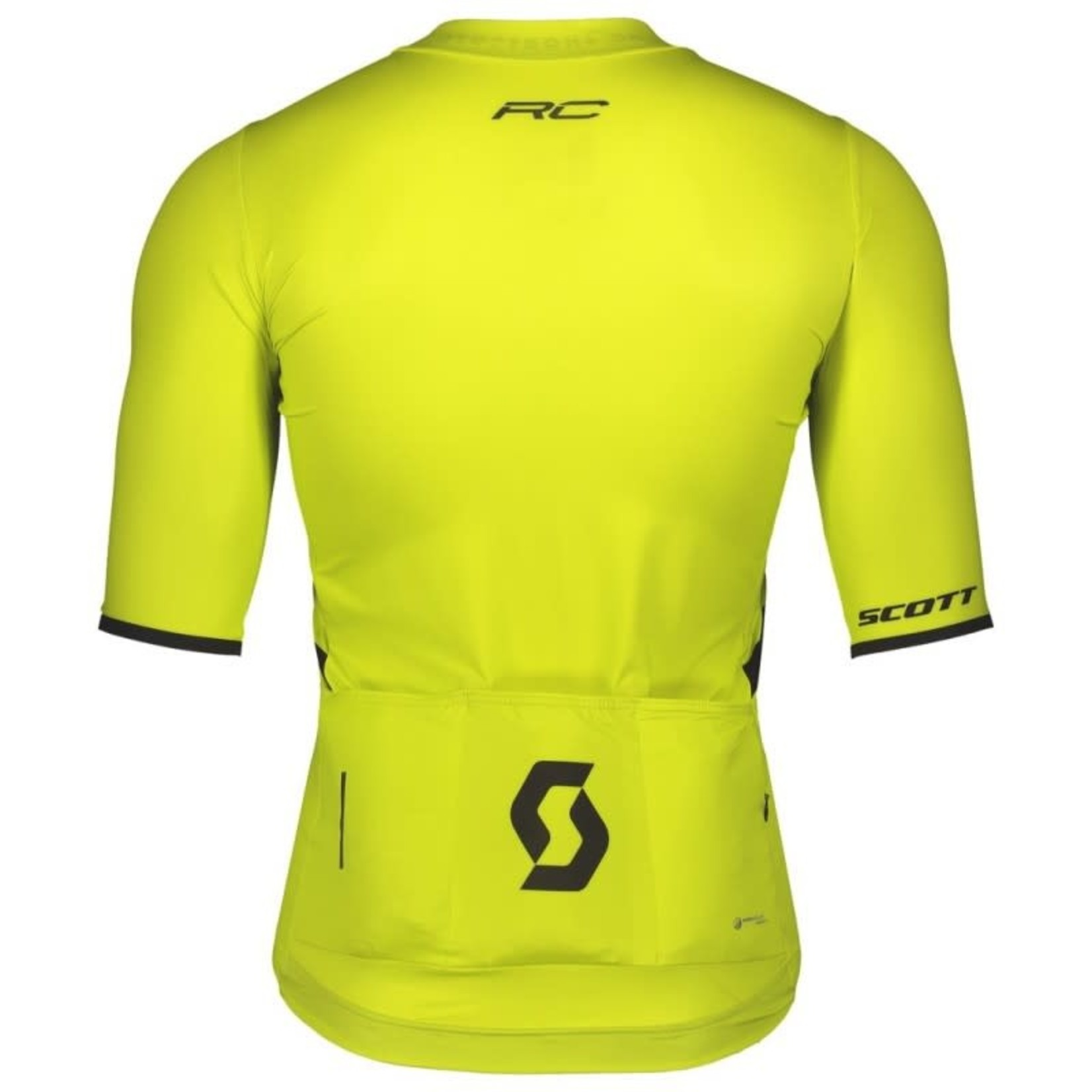 Scott Sports SCOTT RC PREMIUM S/SL MEN'S SHIRT yellow