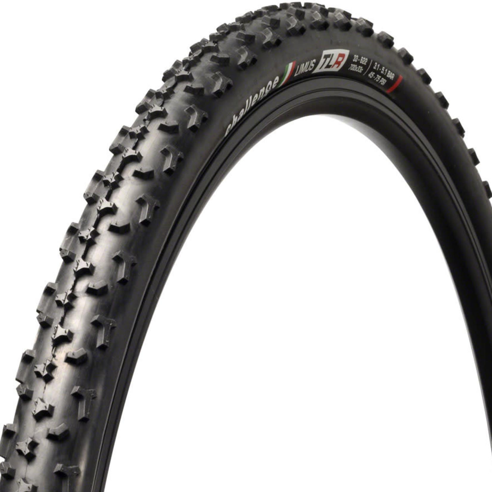 Challenge Challenge Limus Race Tire - 700 x 33, Tubeless, Folding, Black