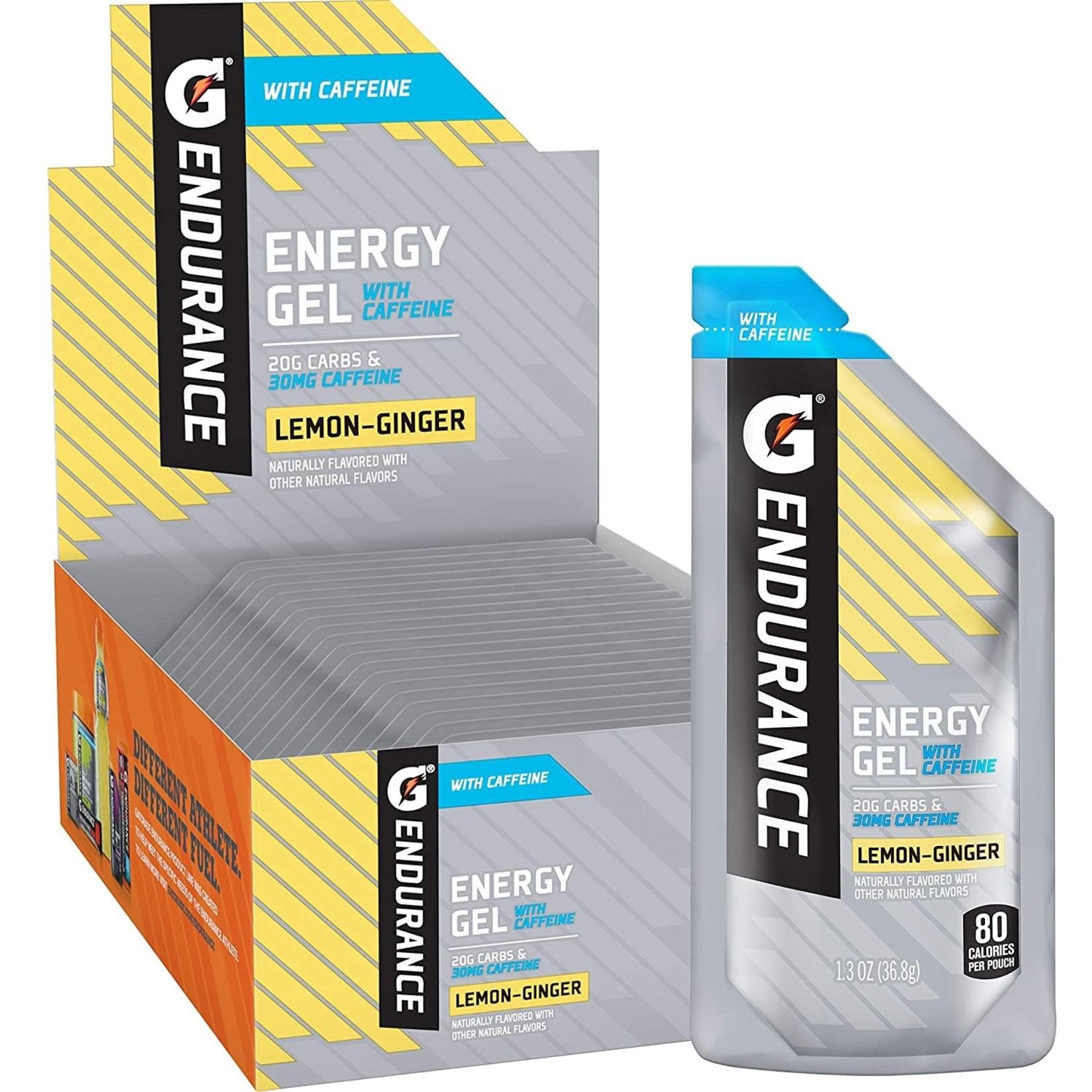 gatorade Gatorade Endurance Energy Gel Lemon-Ginger with CAFFEINE
