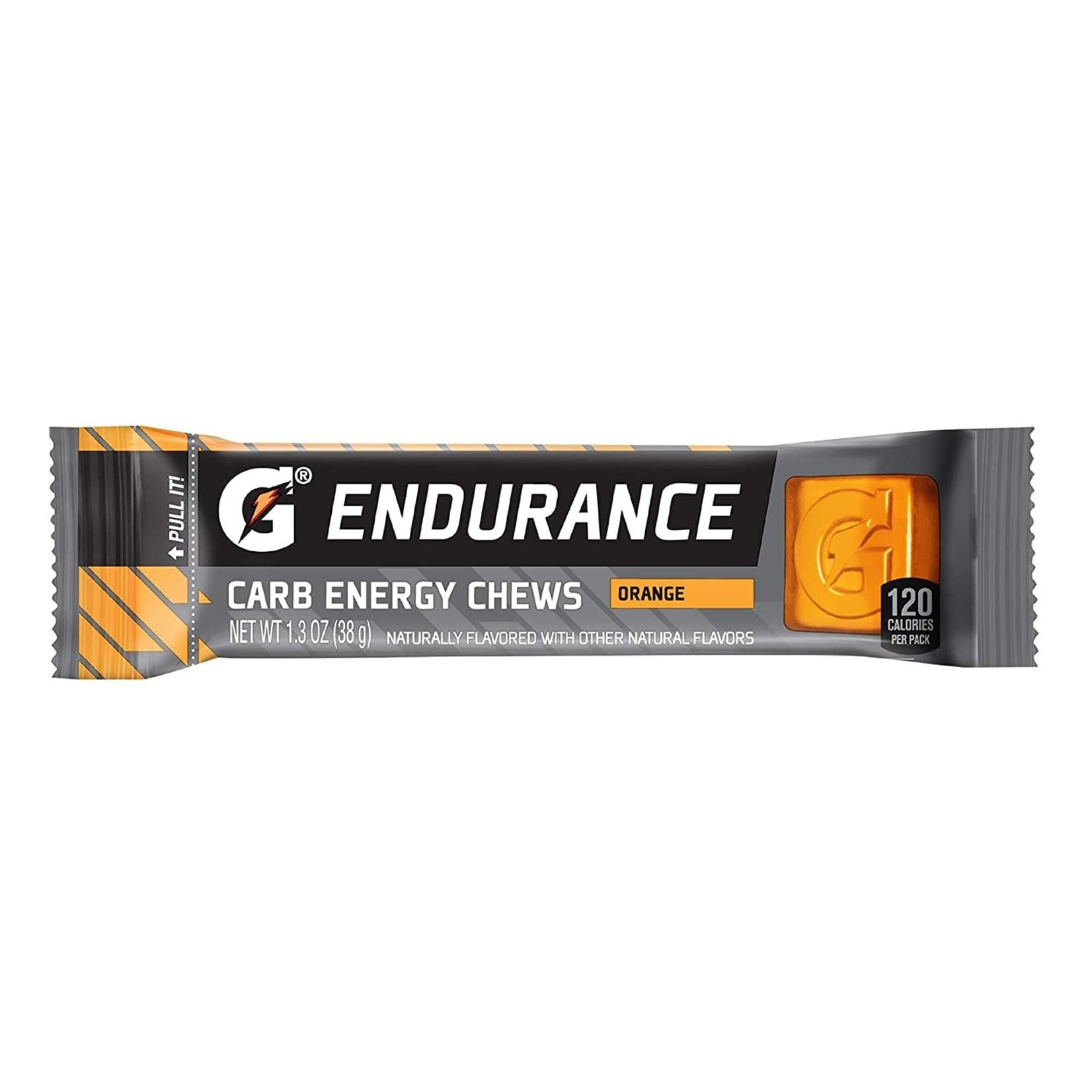 gatorade Gatorade Endurance Carb Energy Chews, Orange