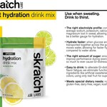Skratch Labs Skratch Labs Sport Hydration Drink Mix: Lemons and Limes, 20-Serving Resealable Pouch
