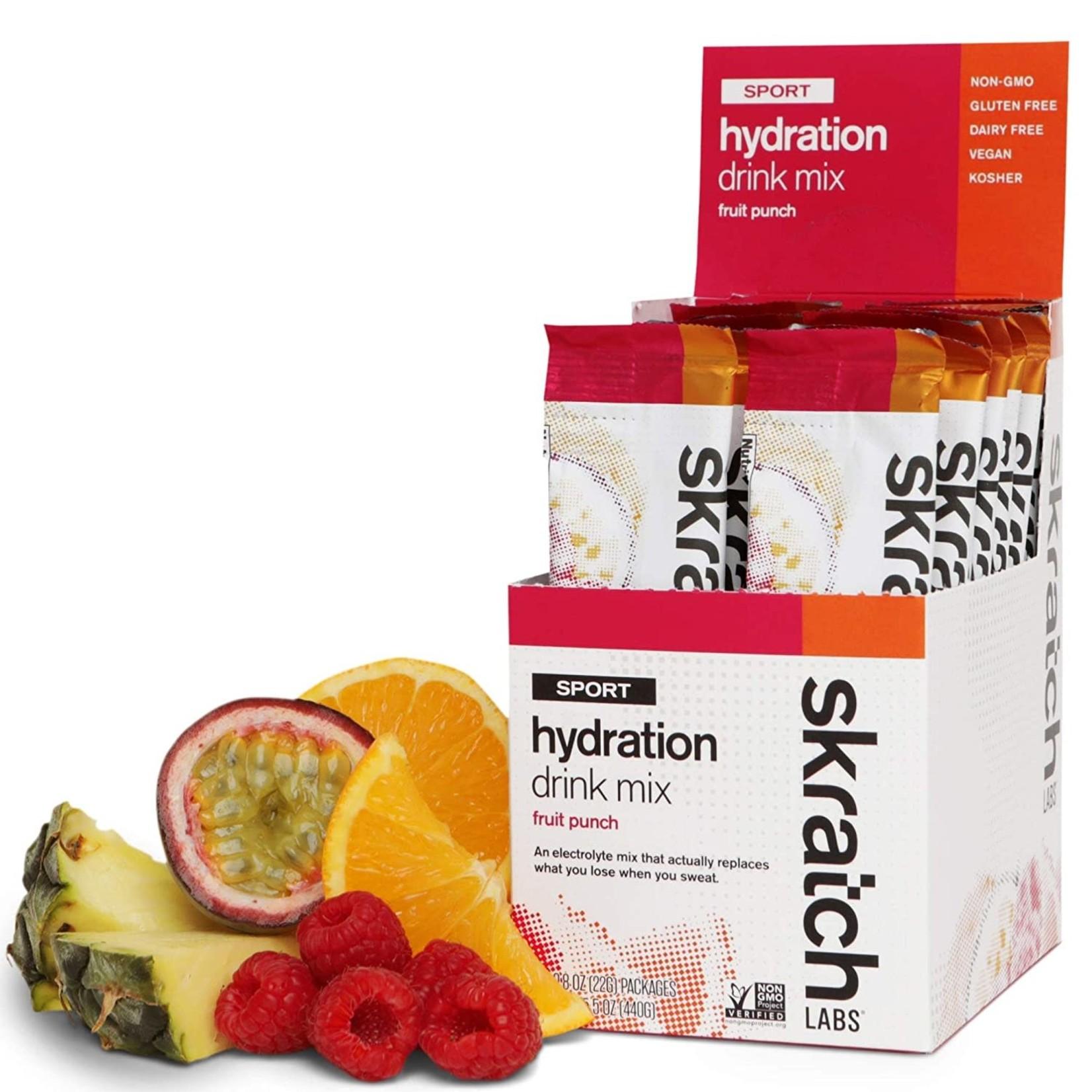 Skratch Labs Skratch Labs Sport Hydration Drink Mix - Fruit Punch